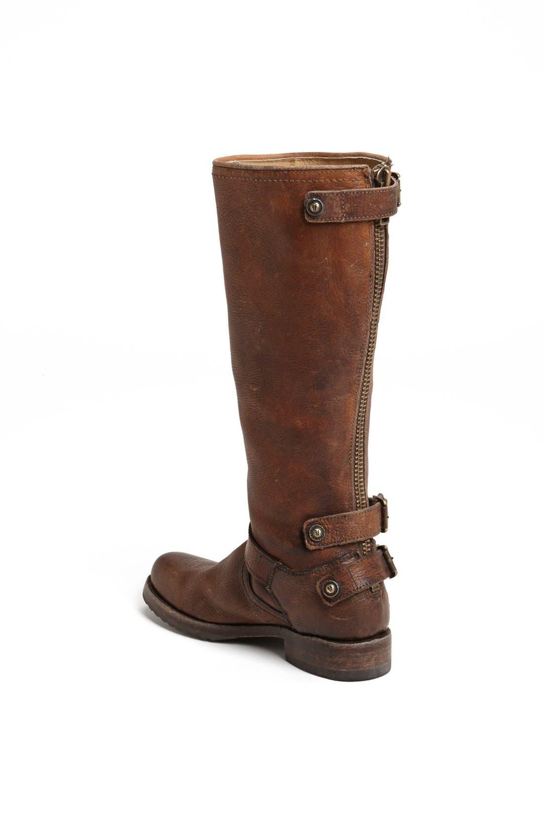 Alternate Image 2  - Frye 'Veronica Back Zip' Boot