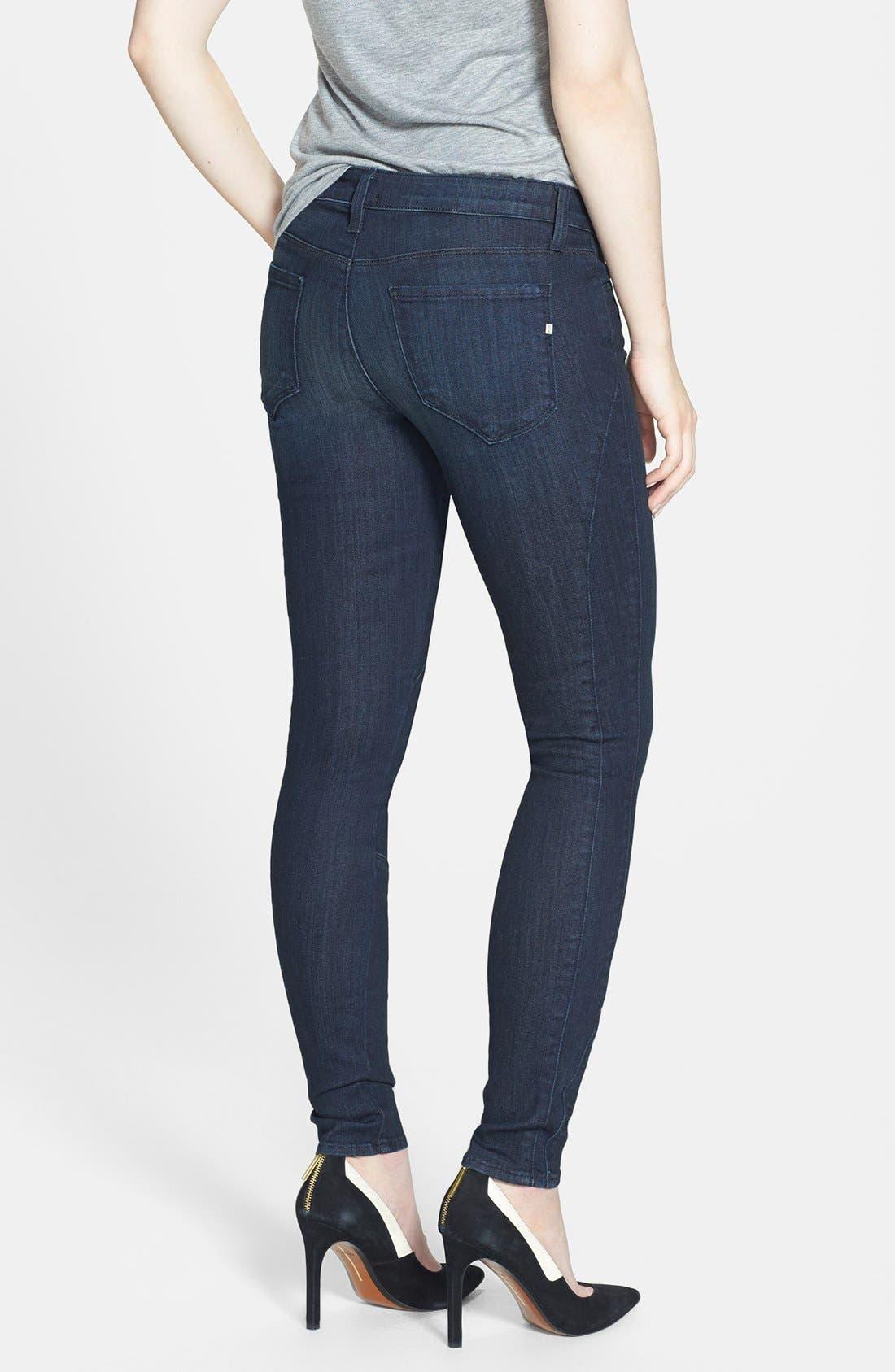 Alternate Image 2  - Genetic 'Semira' Seamed Cigarette Skinny Jeans (Impulse)