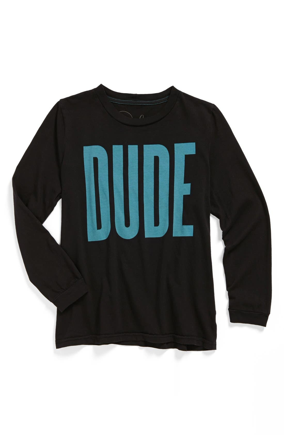 Main Image - Peek 'Dude' T-Shirt (Big Boys)