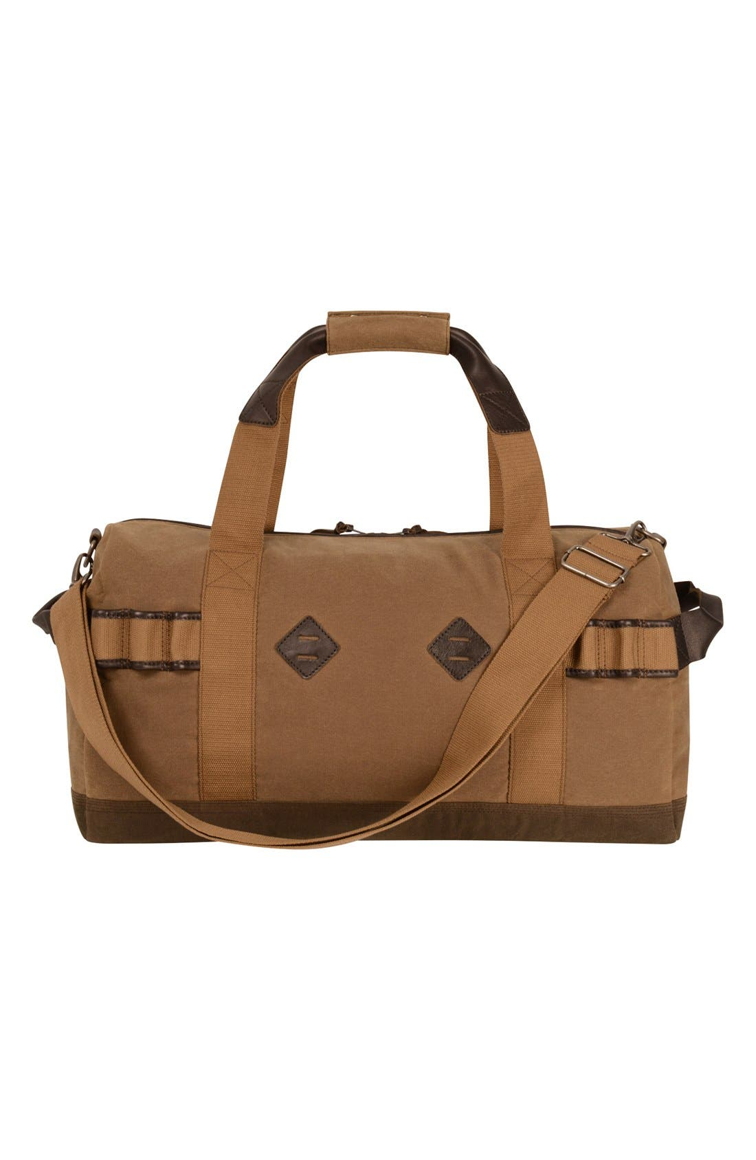 'Madison' Duffel Bag,                             Alternate thumbnail 2, color,                             Tan/ Brown