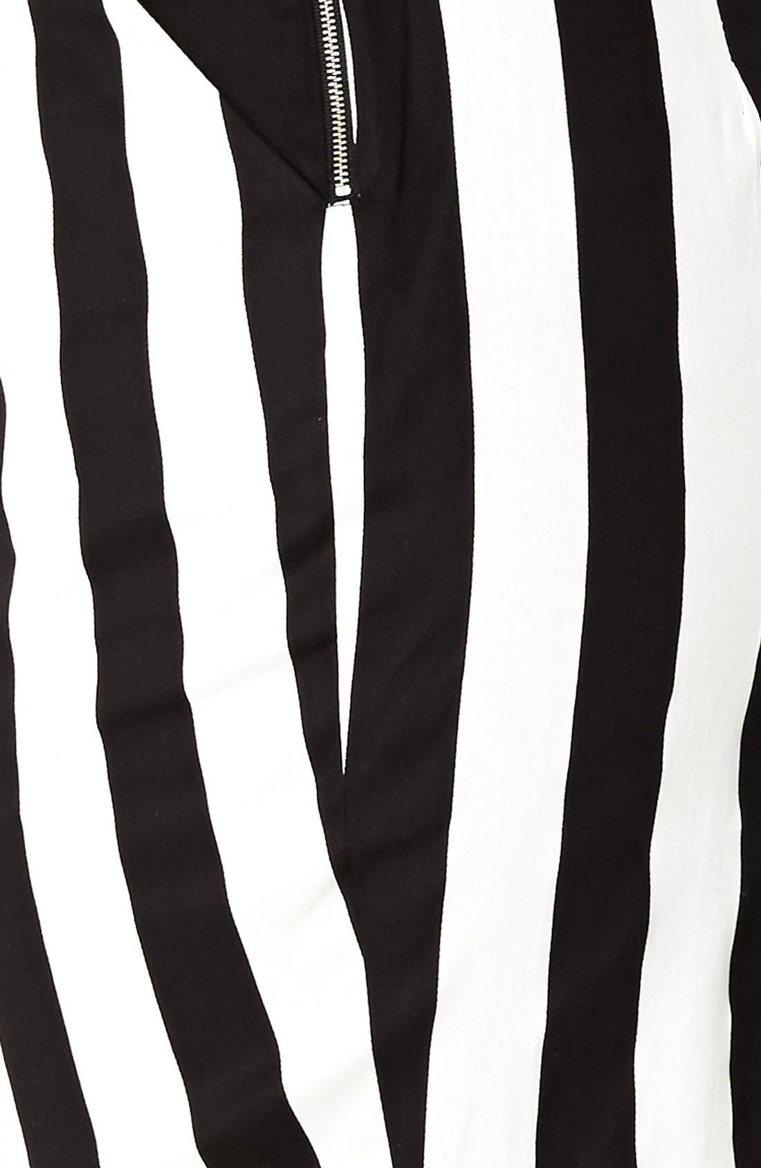 Alternate Image 3  - City Chic Vertical Stripe Tube Skirt (Plus Size)