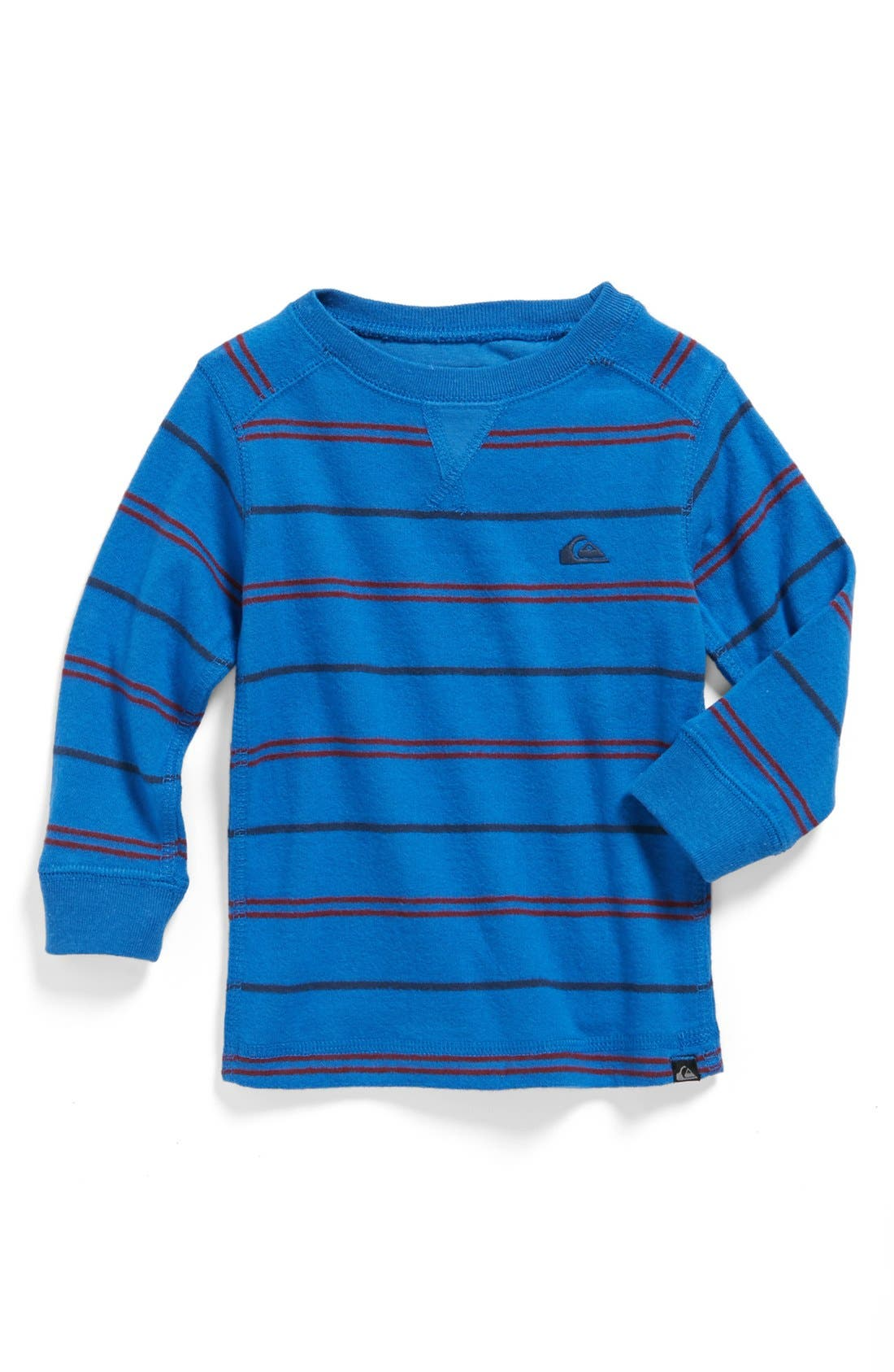 Alternate Image 1 Selected - Quiksilver 'Snit' Stripe Sweater (Baby Boys)