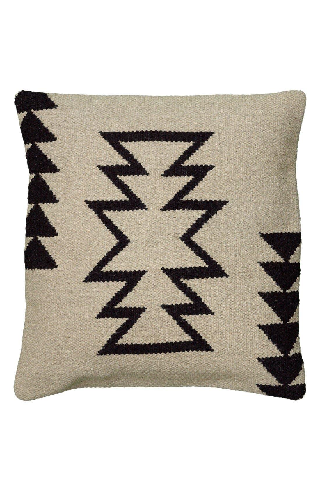 'Phoenix' Pillow,                         Main,                         color, Ivory/ Black