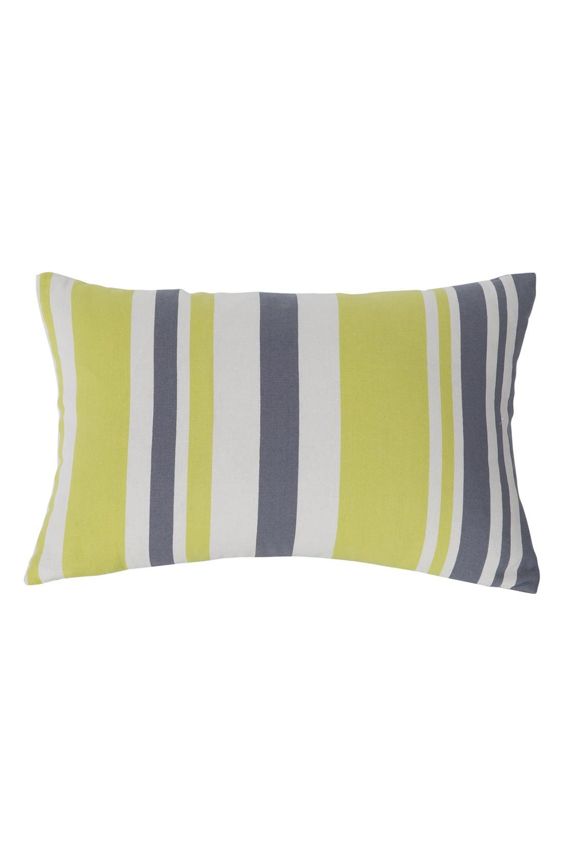 'Etta' Pillow,                         Main,                         color, Grey/ Citrus