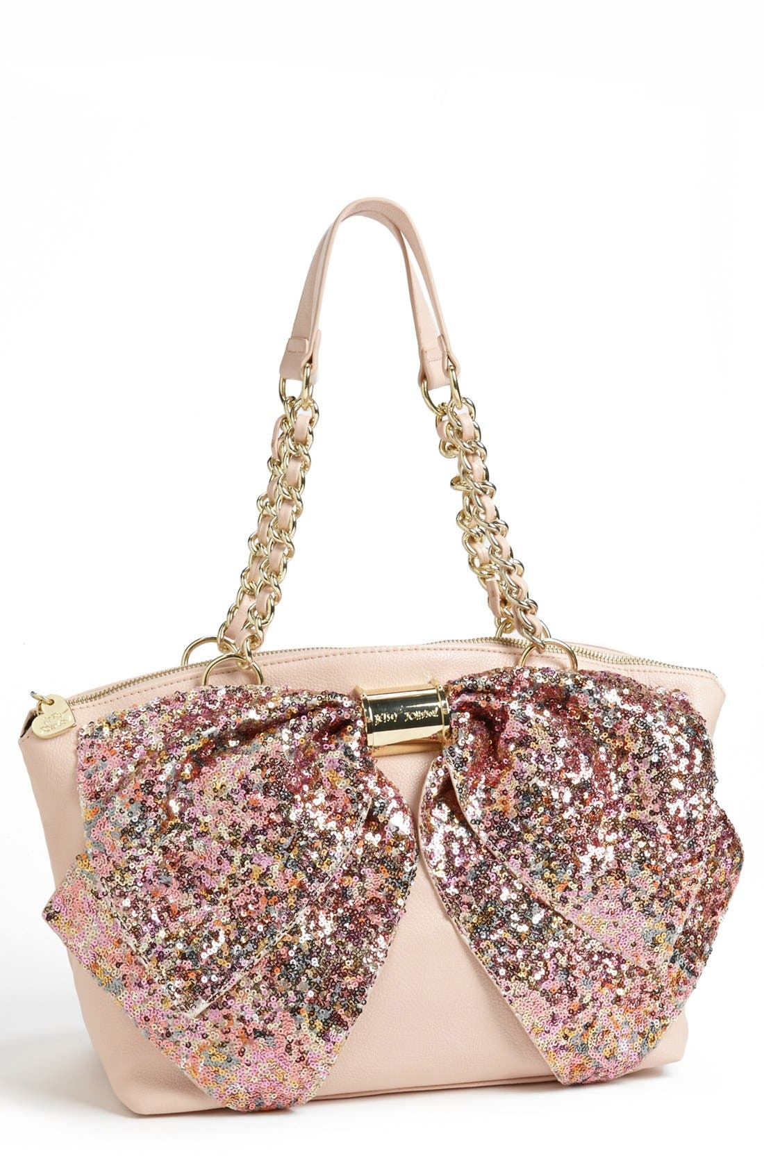 Alternate Image 1 Selected - Betsey Johnson 'Bow-Nanza' Satchel
