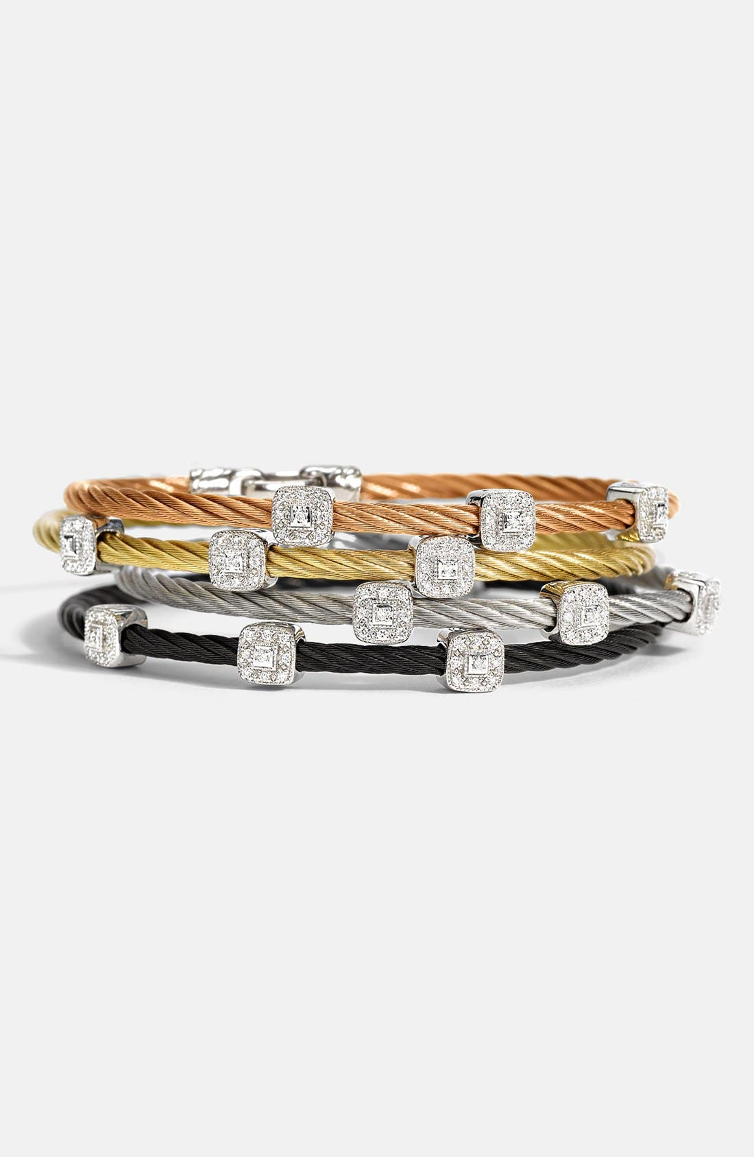 Alternate Image 1 Selected - ALOR® Diamond Station Bracelet
