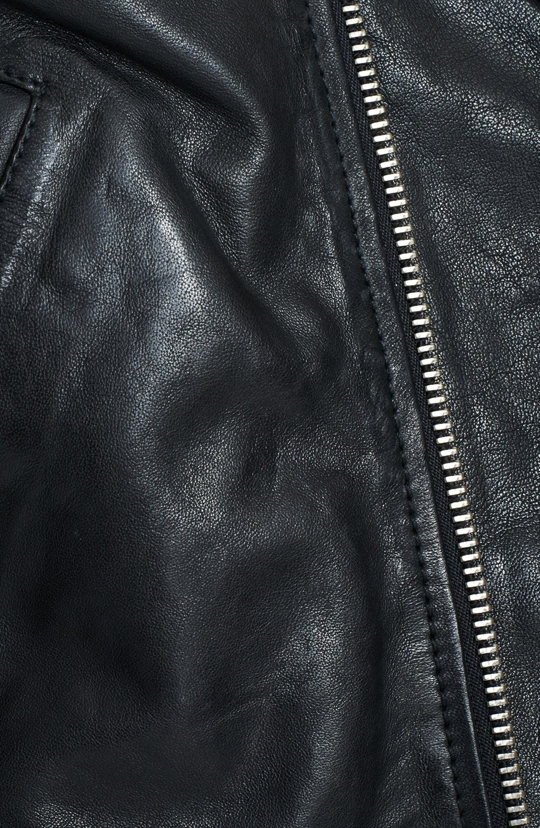 Alternate Image 5  - BLK DNM Lambskin Leather Jacket