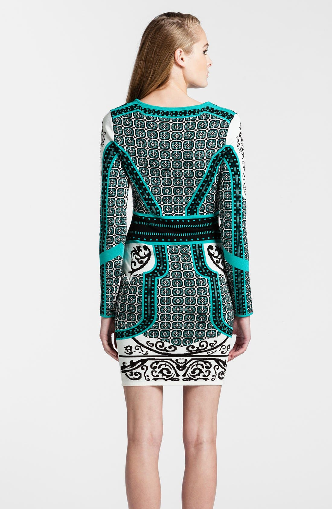 Alternate Image 2  - Cynthia Steffe Intarsia Sweater Dress
