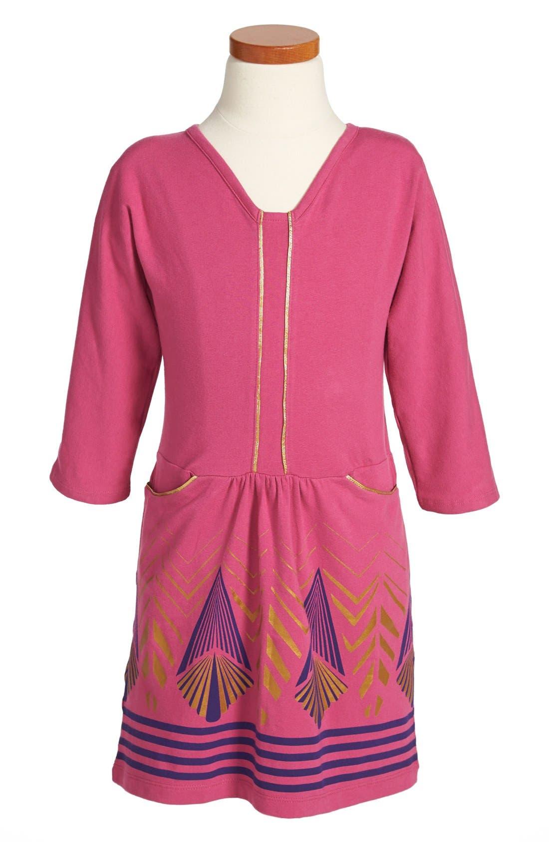 Main Image - Tea Collection 'Shanghai Deco' Dress (Little Girls & Big Girls)