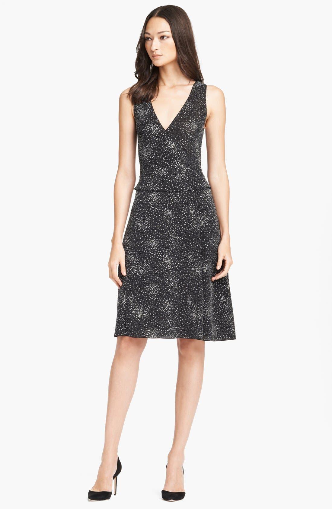 Main Image - Armani Collezioni Full Skirt Knit Dress