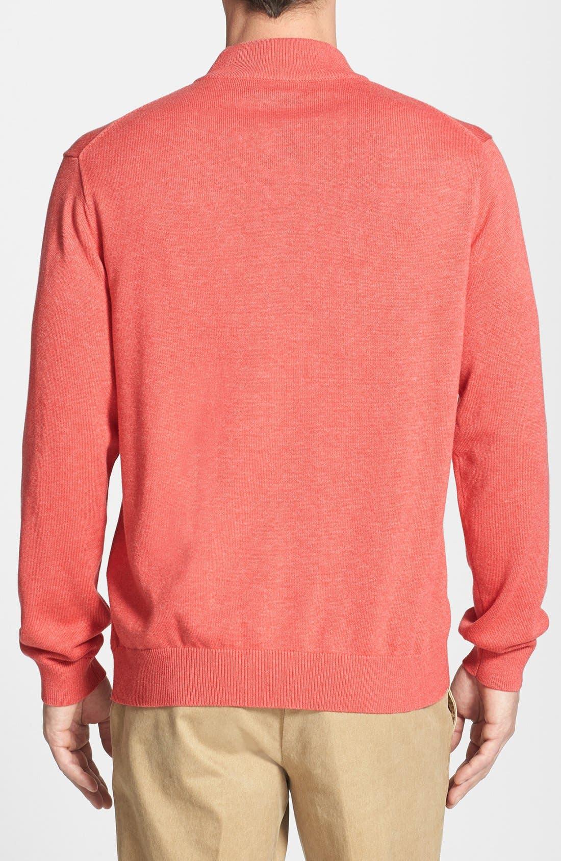 Alternate Image 2  - Vineyard Vines Quarter Zip Sweater