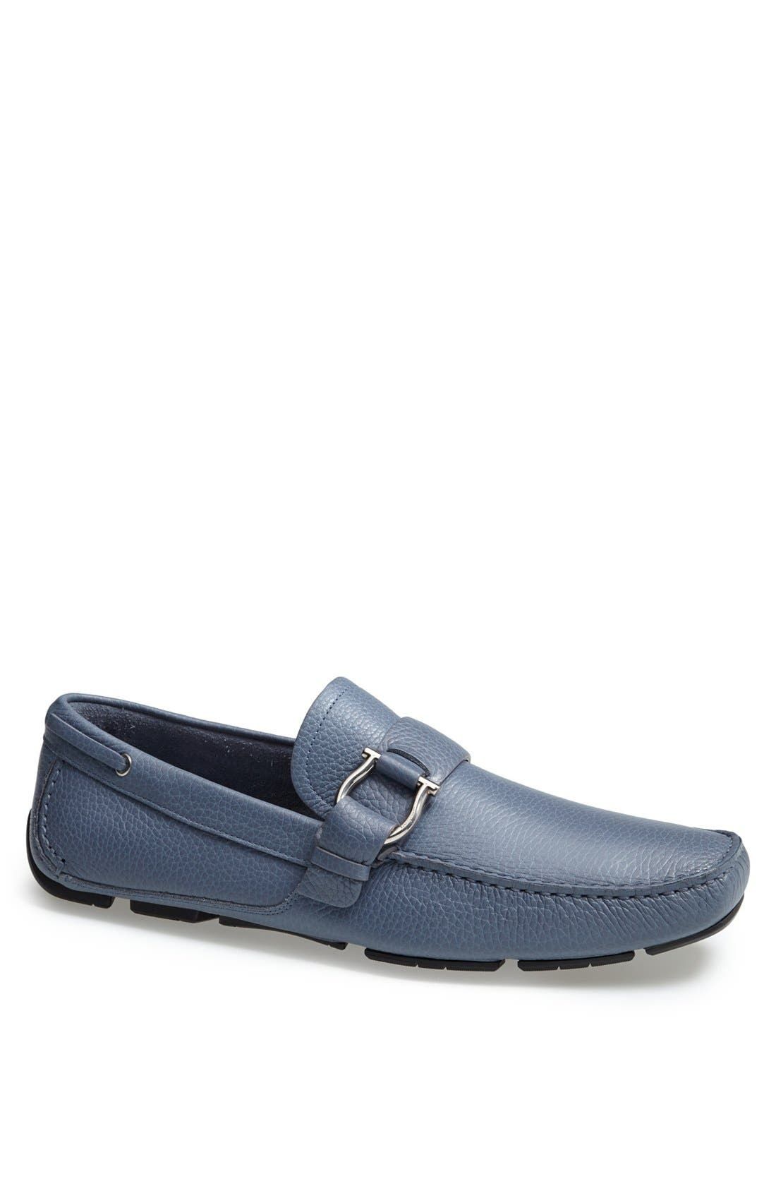 Alternate Image 1 Selected - Salvatore Ferragamo 'Cabo 2' Driving Shoe
