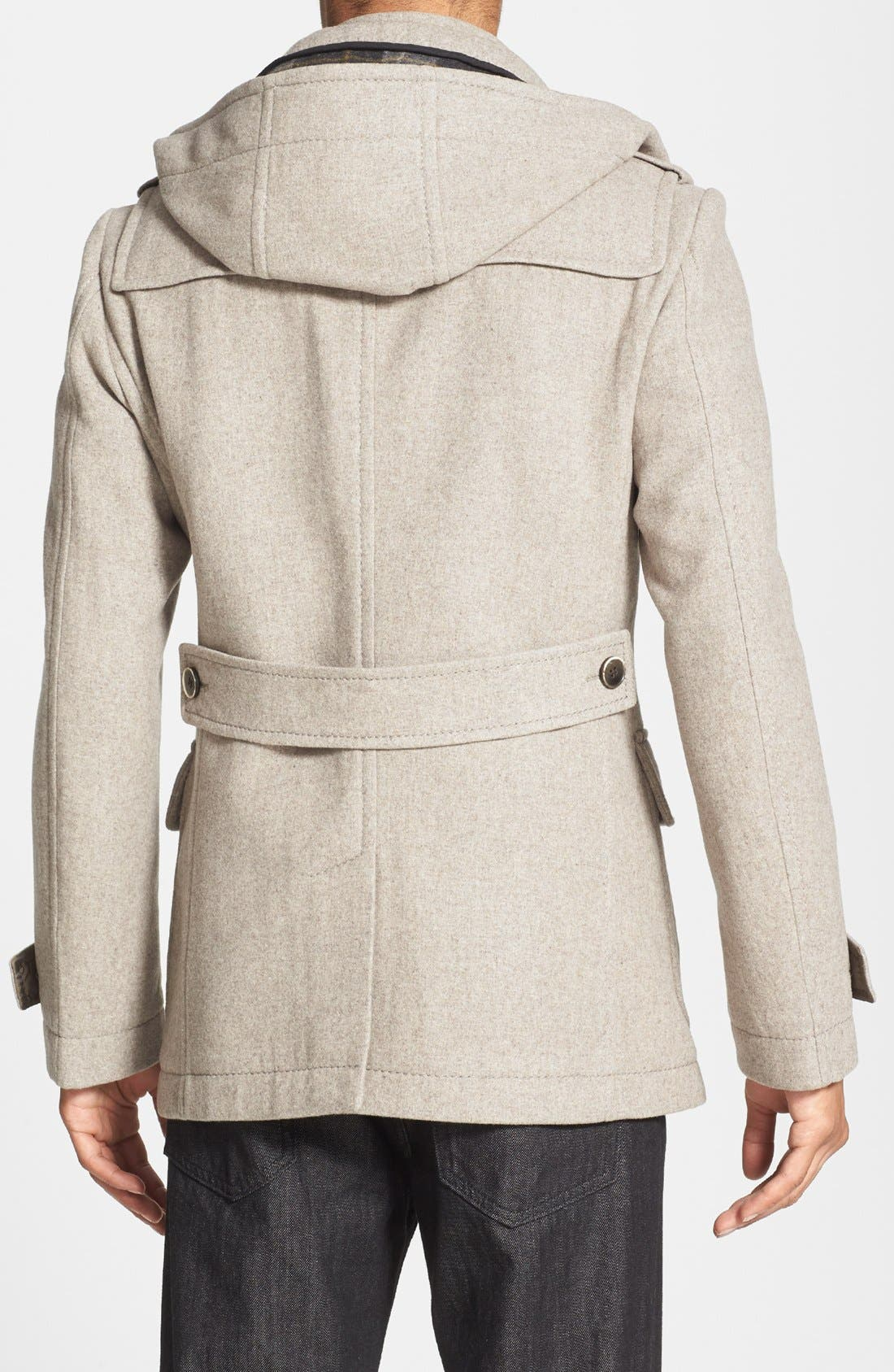 Alternate Image 2  - BOSS HUGO BOSS 'Capez' Wool Blend Duffle Coat