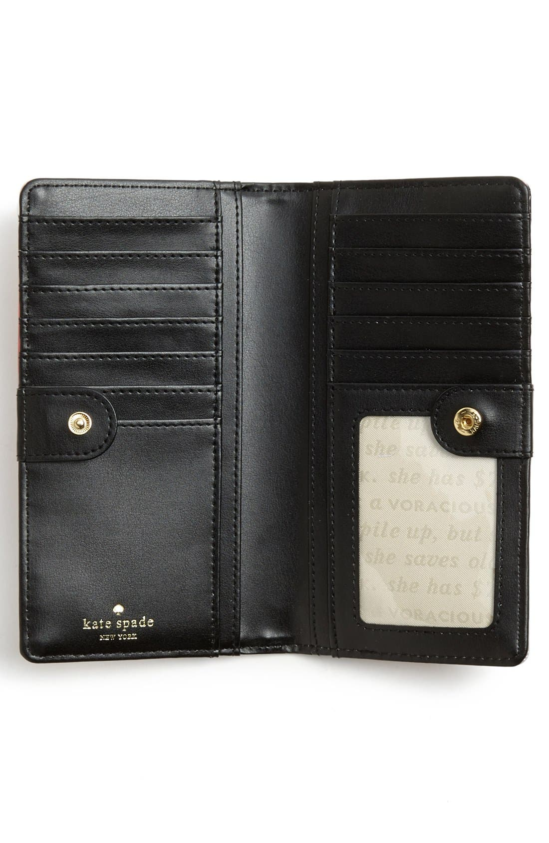 Alternate Image 2  - kate spade new york 'stacy' continental wallet
