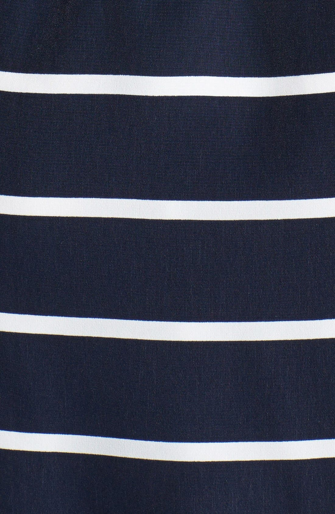 Alternate Image 3  - Vince Camuto 'Yacht Stripe' Mixed Print Dress (Regular & Petite)