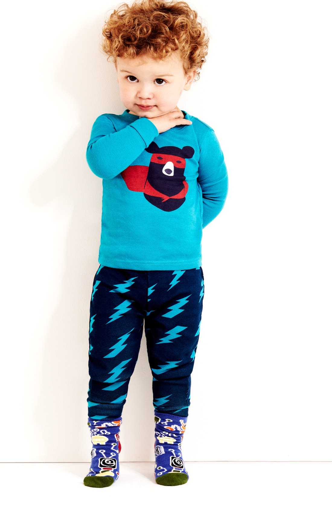 Alternate Image 2  - Tucker + Tate Two-Piece Fitted Pajamas (Baby Boys)