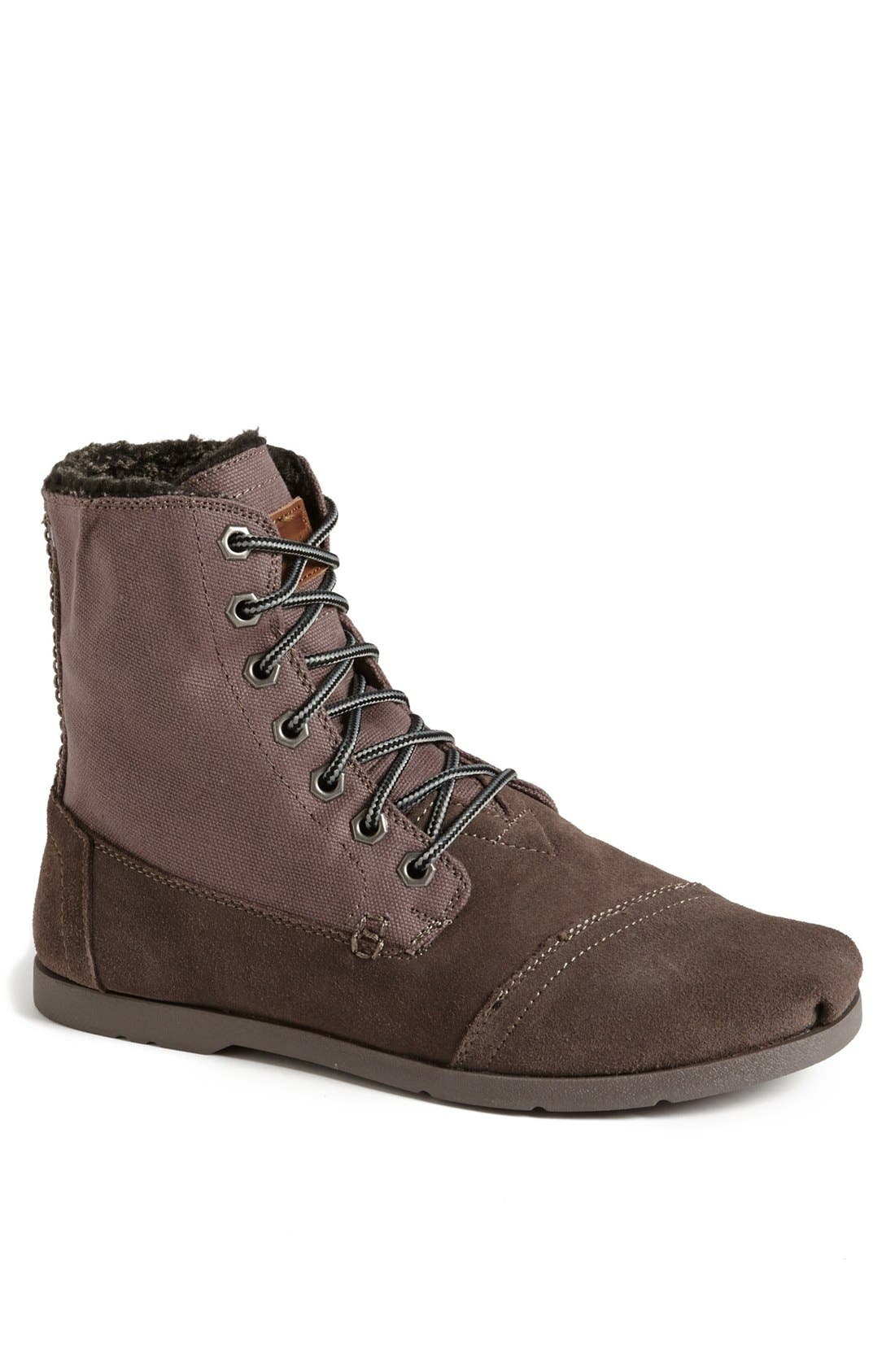 Alternate Image 1 Selected - TOMS Suede Utility Boot (Men)