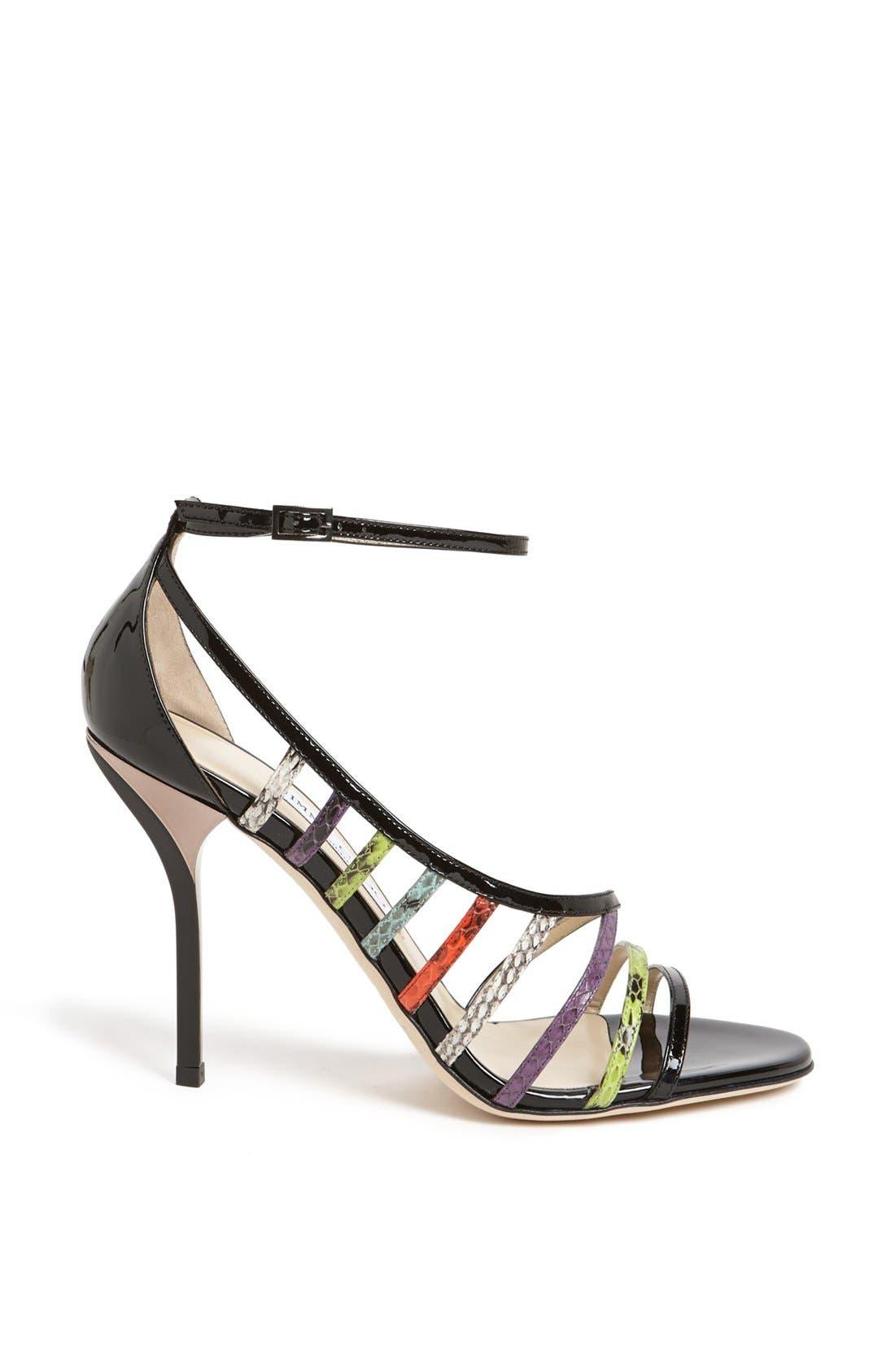 Alternate Image 4  - Jimmy Choo 'Vuka' Ankle Strap Sandal