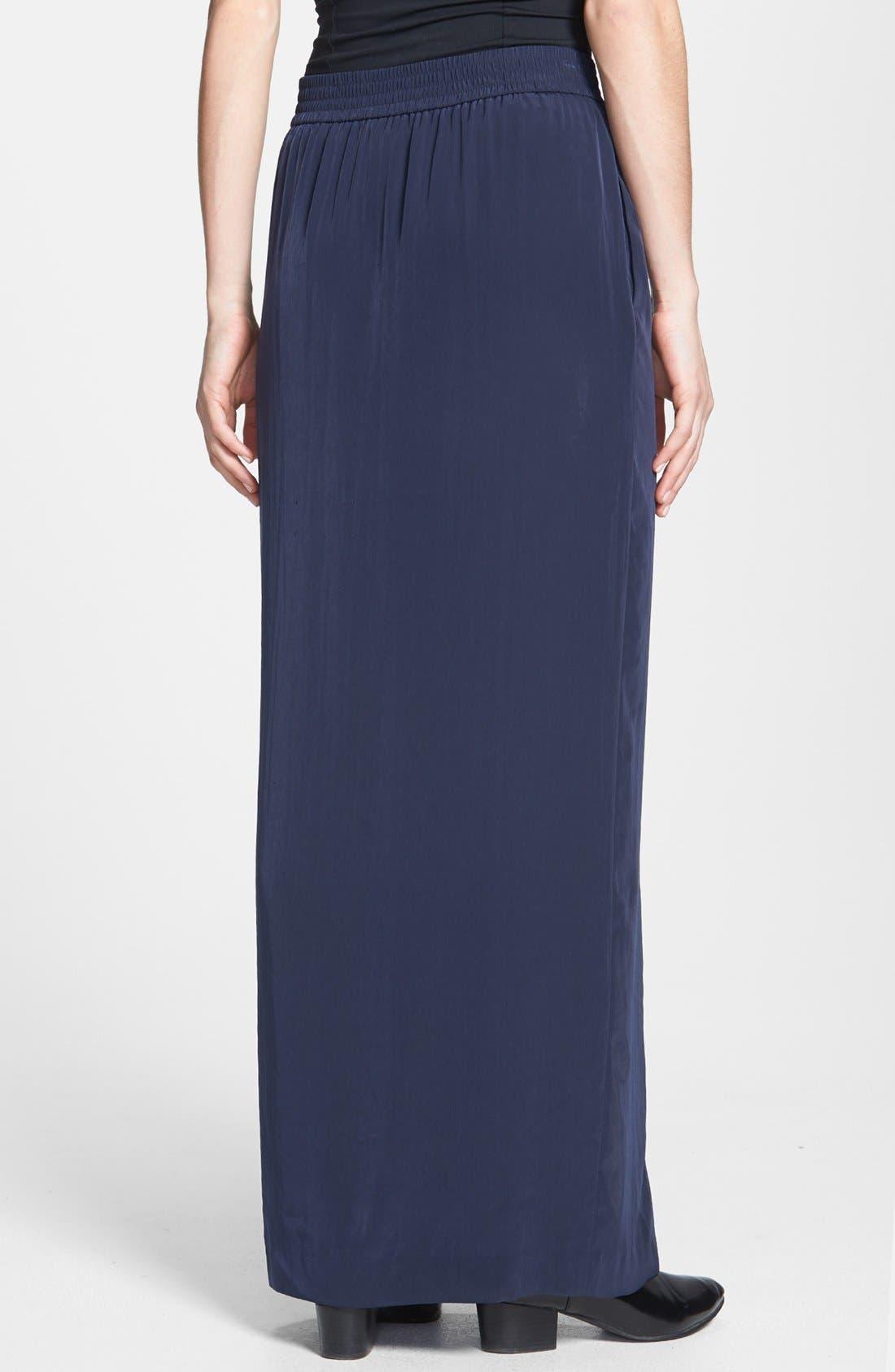 Alternate Image 2  - Tildon Side Slit Maxi Skirt