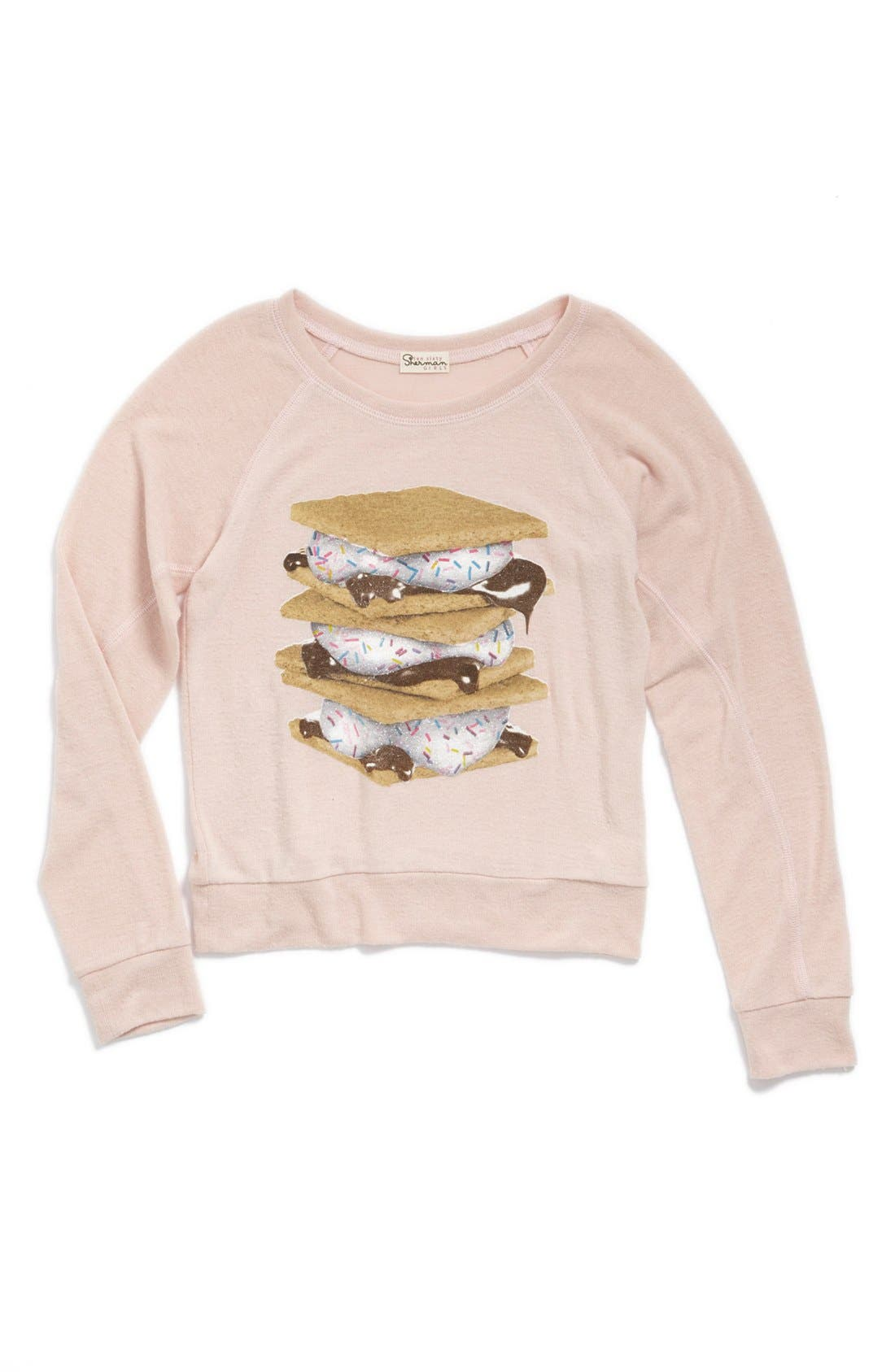 Main Image - Ten Sixty Sherman 'Foodie' Graphic Sweatshirt (Big Girls)