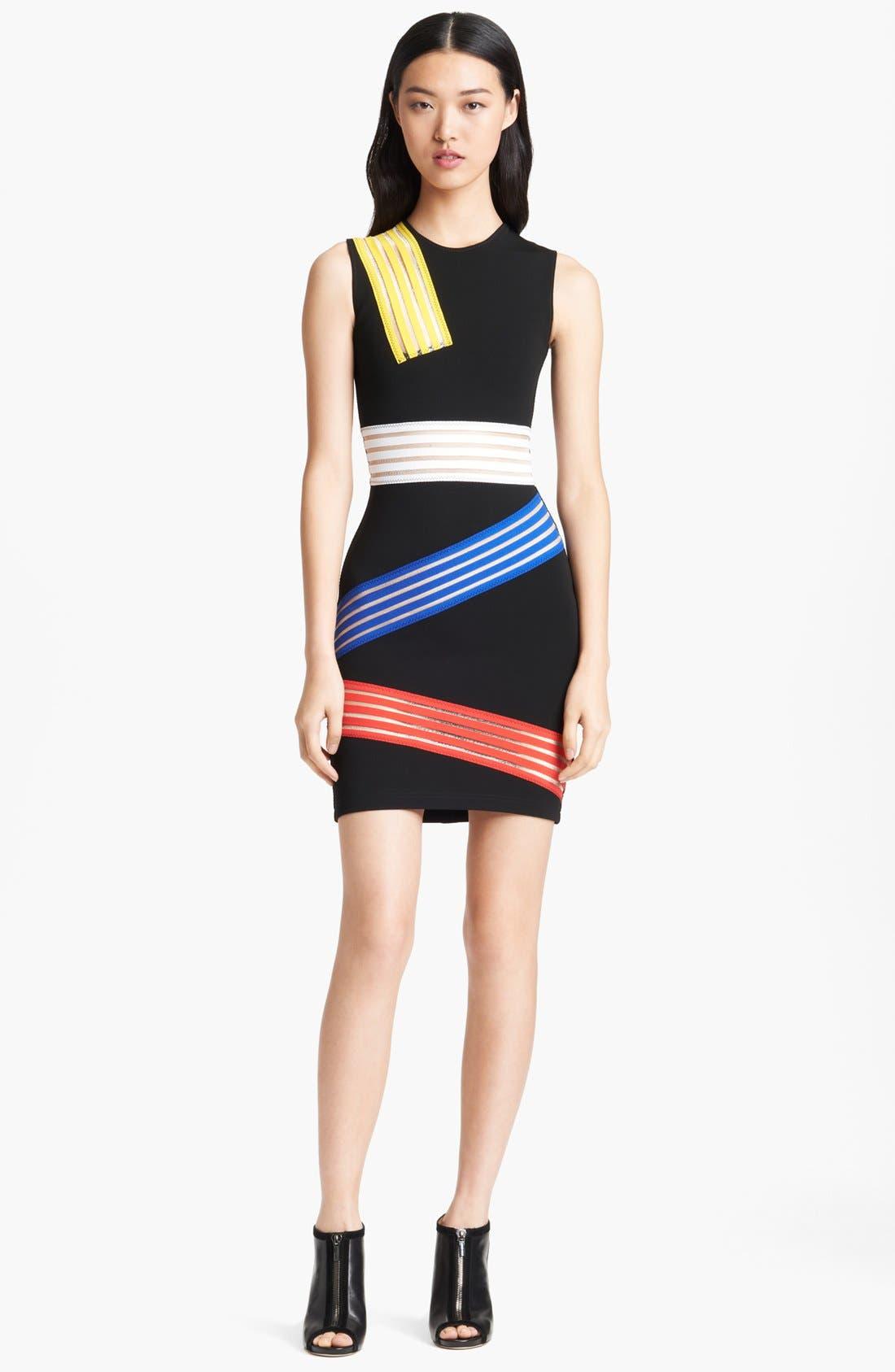 Main Image - Christopher Kane Multicolor Tape Dress