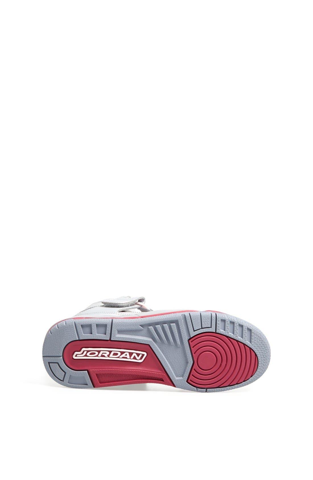 Alternate Image 4  - Nike 'Jordan Flight 45' High Athletic Shoe (Big Kid)