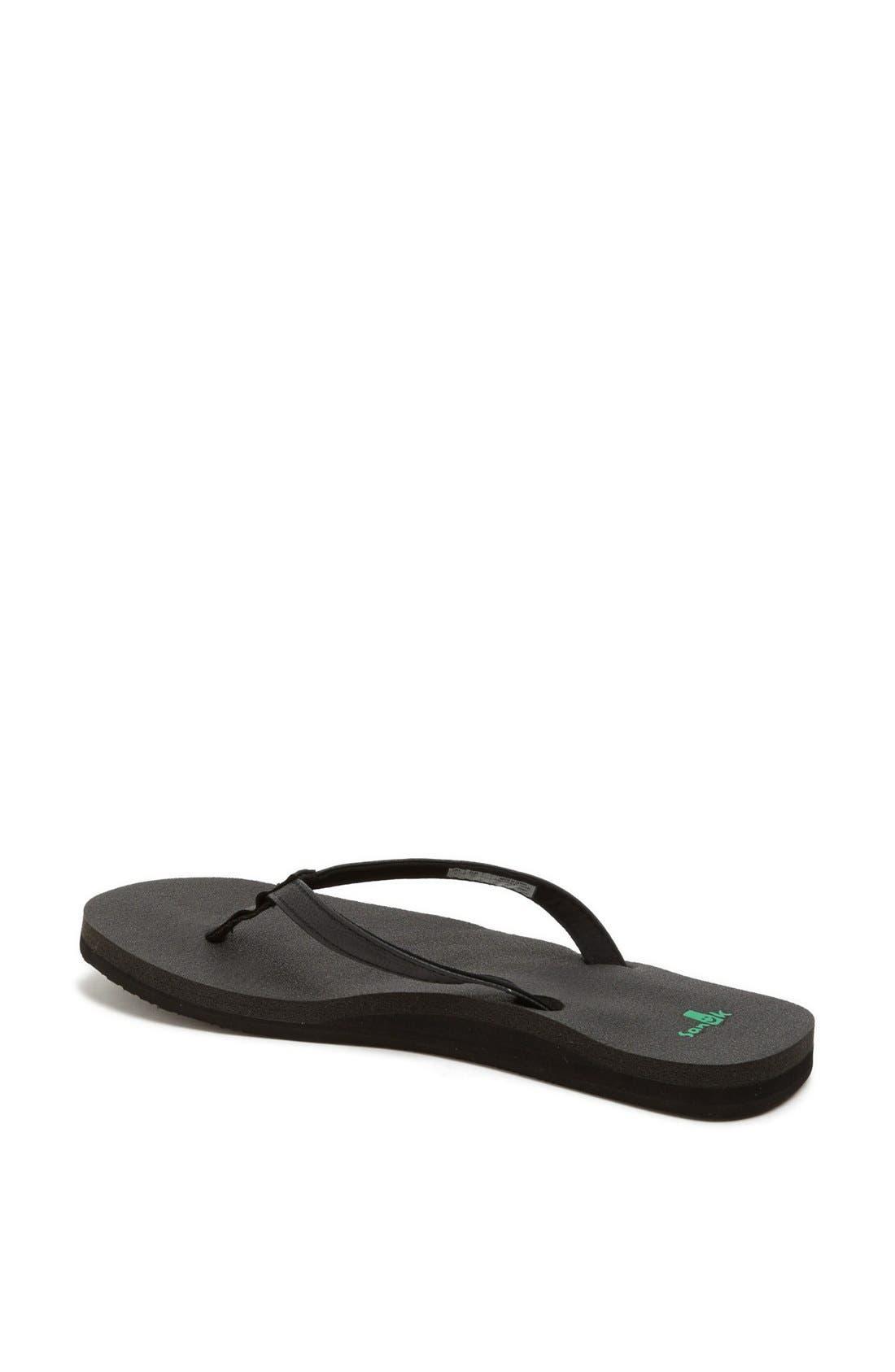 Alternate Image 2  - Sanuk 'Yoga Joy' Flip Flop (Women) (Regular Retail Price: $29.95)