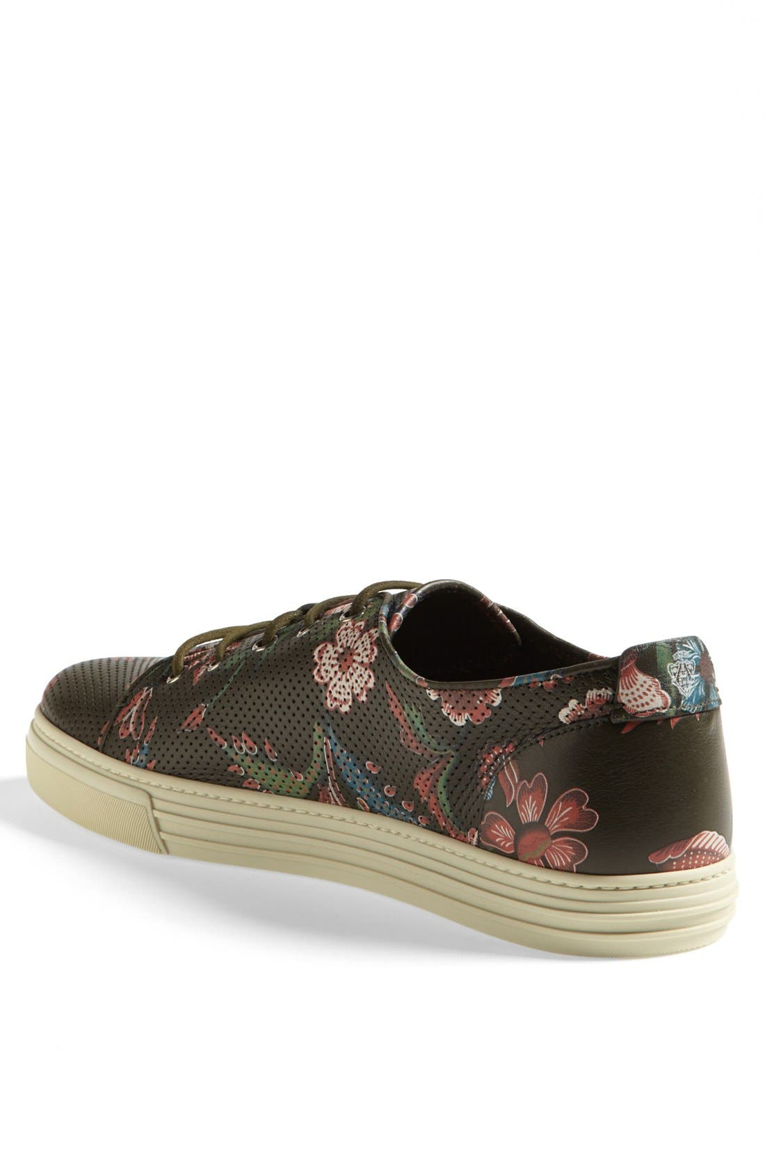 Alternate Image 2  - Gucci 'Jimy' Print Low Sneaker