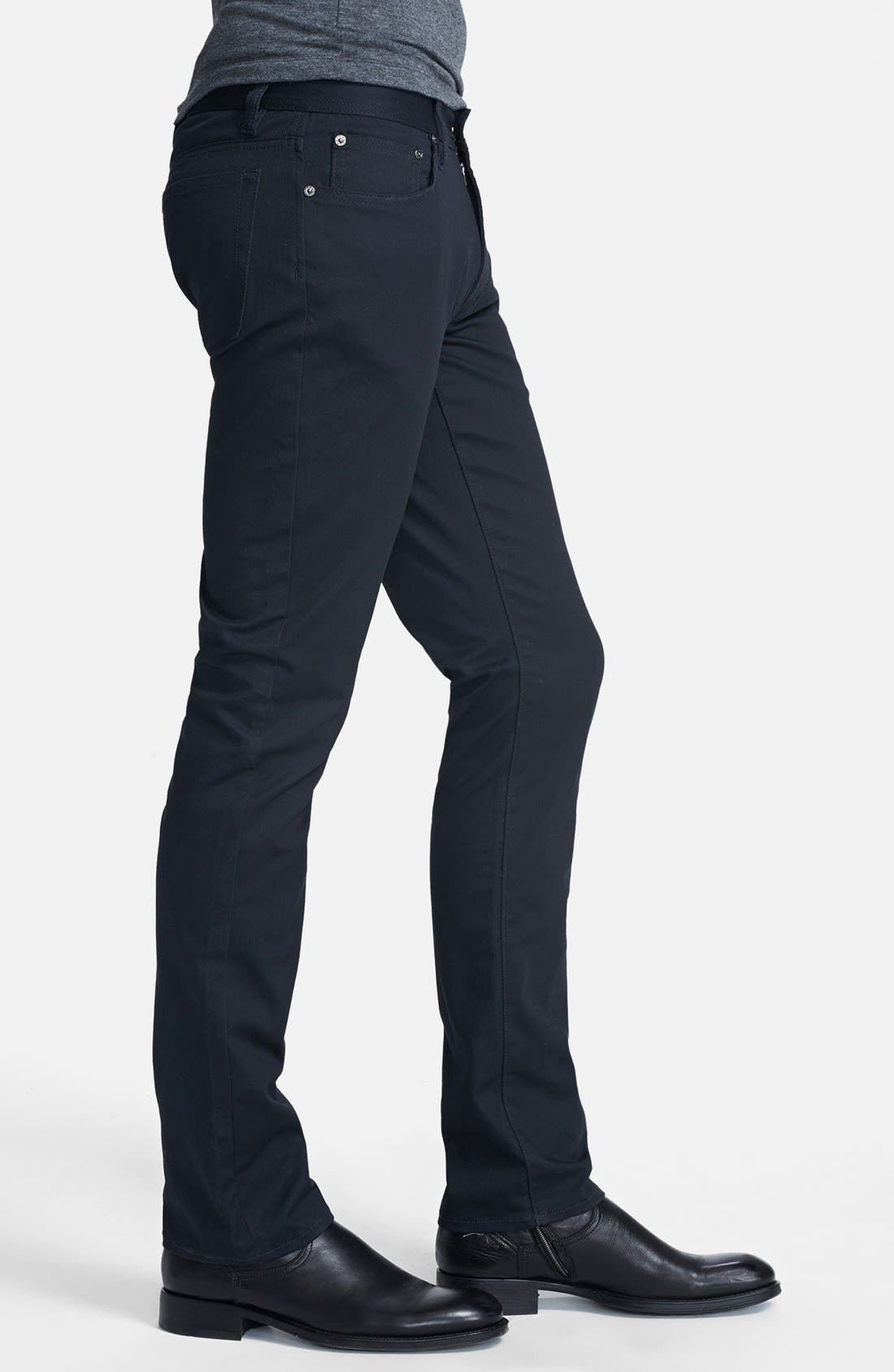 Alternate Image 3  - John Varvatos Star USA 'Bowery' Slim Straight Leg Pants