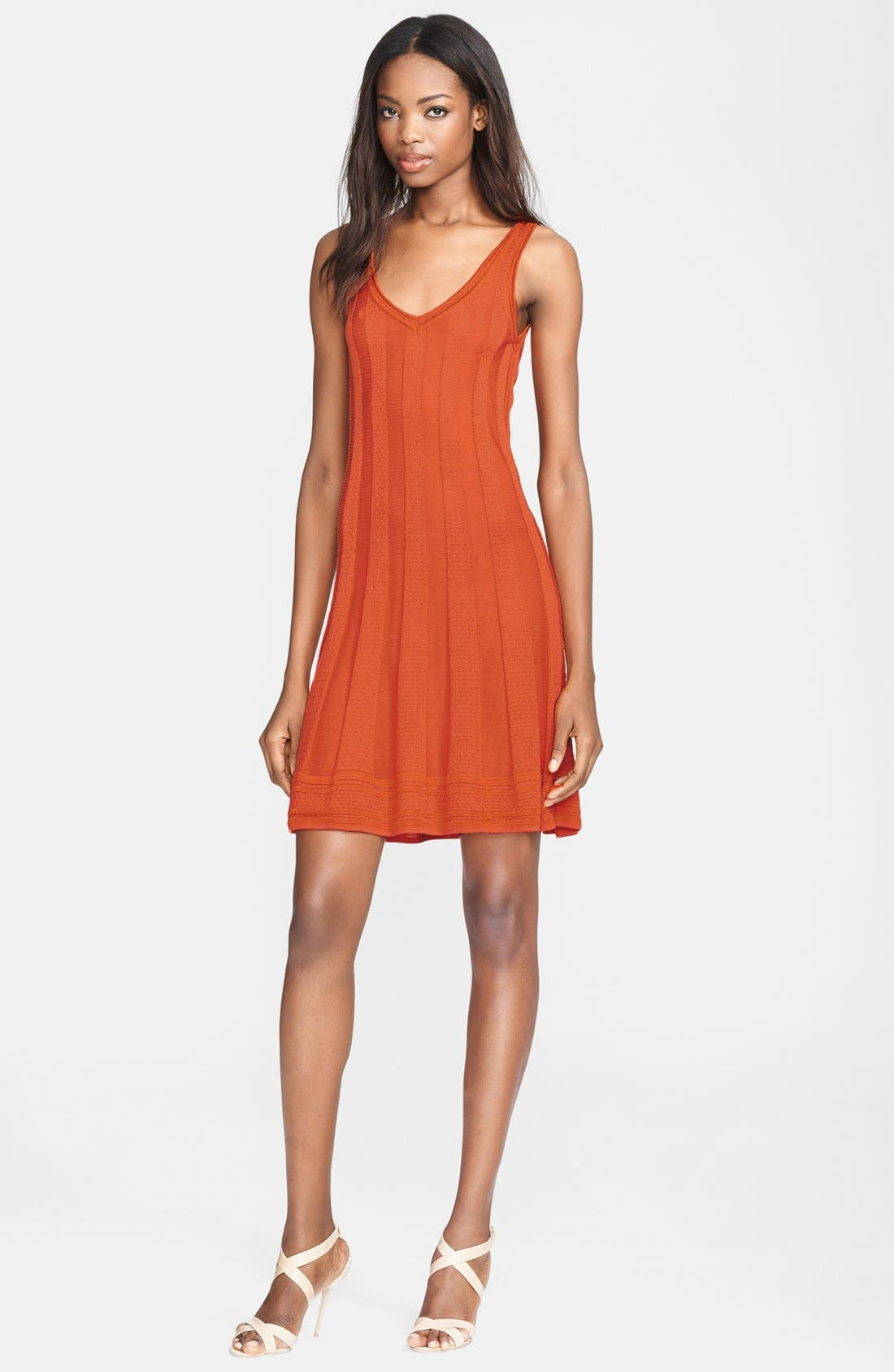 Main Image - M Missoni Sleeveless V-Neck Knit Dress