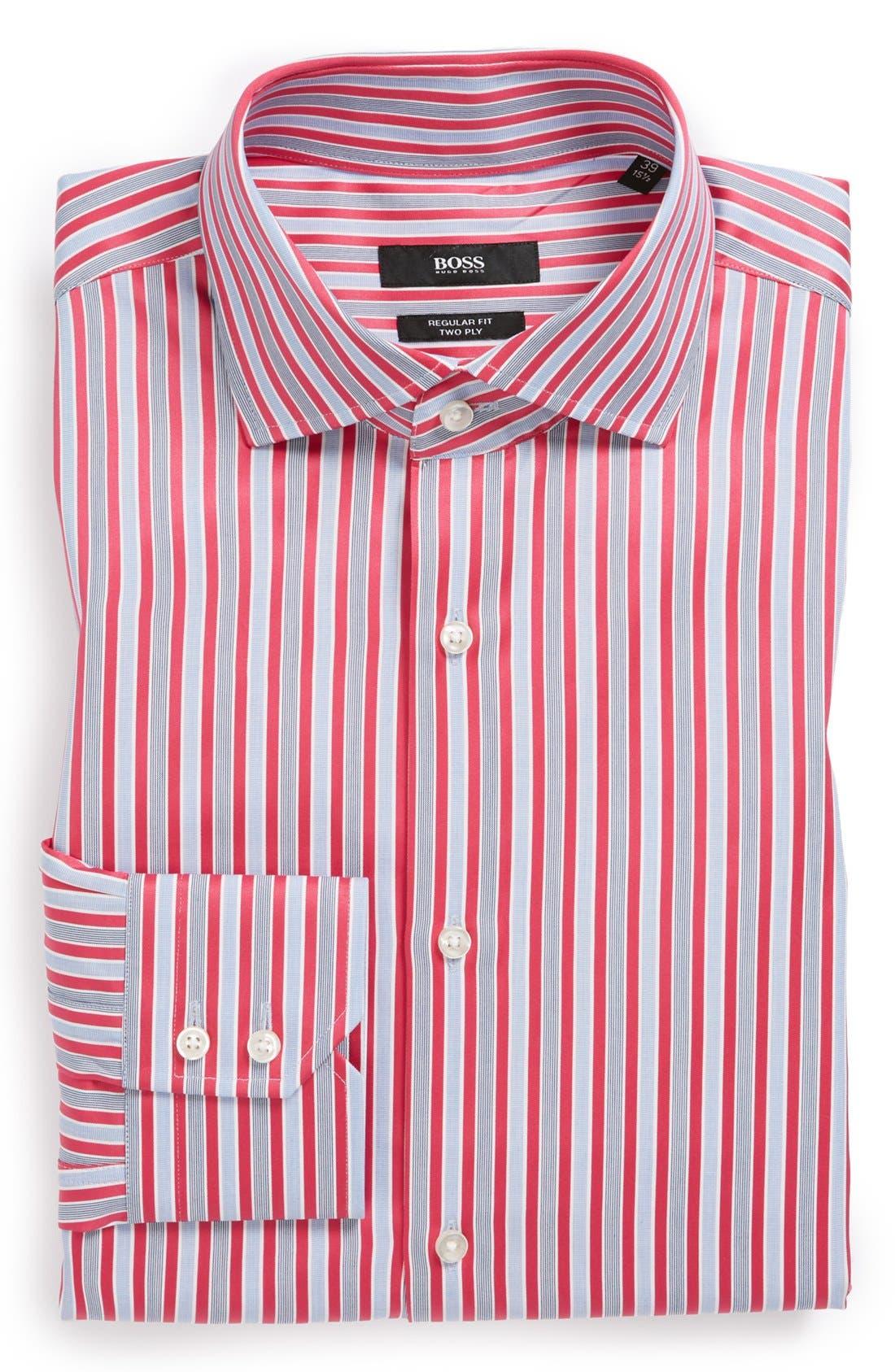 Main Image - BOSS HUGO BOSS 'Gerald' WW Regular Fit Dress Shirt