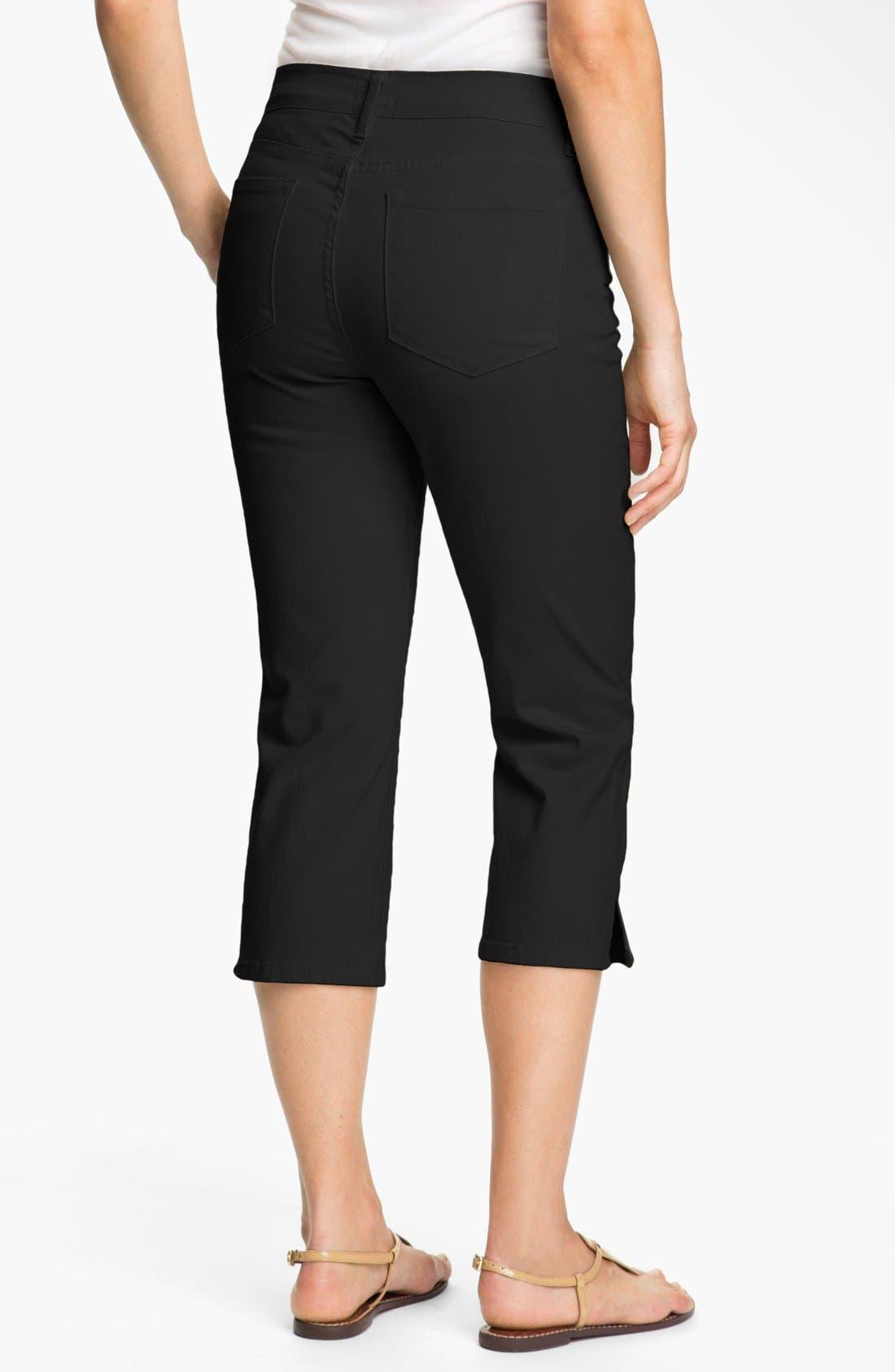 Alternate Image 2  - NYDJ 'Nanette' Stretch Crop Jeans