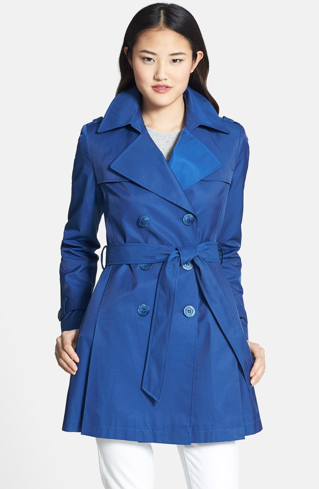 Alternate Image 1 Selected - DKNY Trench Coat (Online Only)