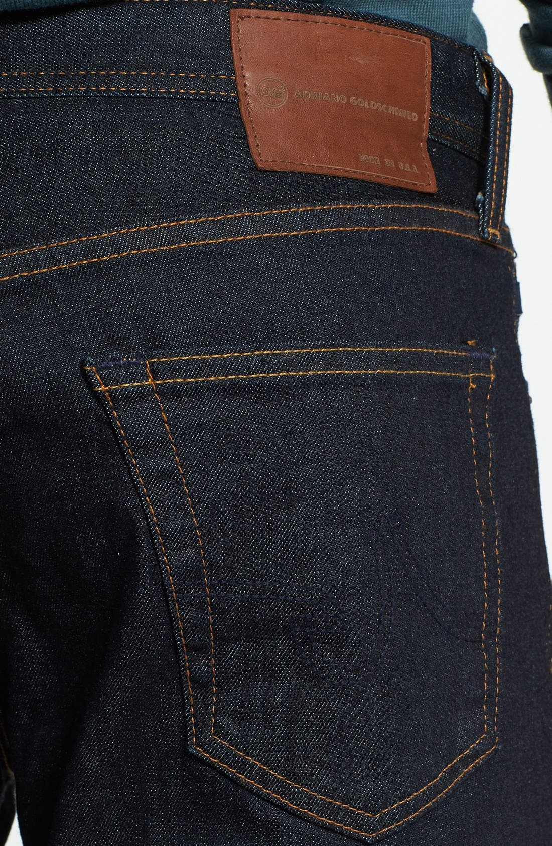 Alternate Image 4  - AG 'Graduate' Slim Straight Leg Jeans (Jack) (Regular & Tall)