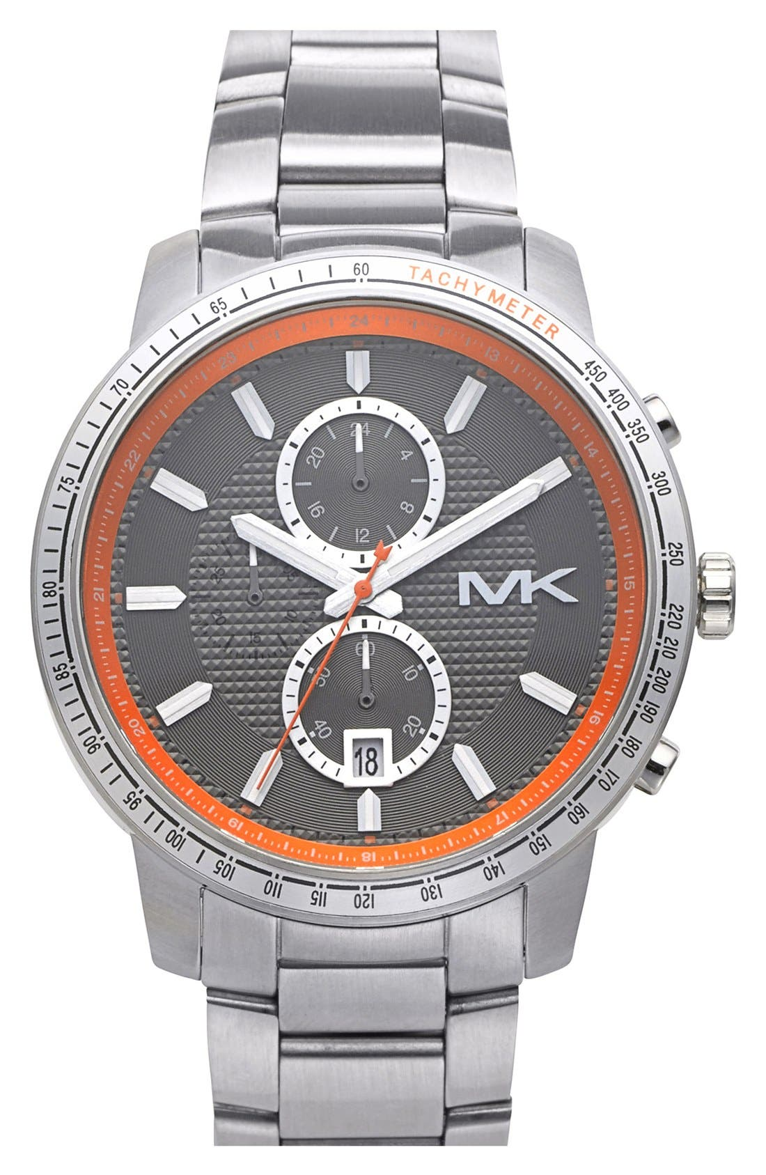 Alternate Image 1 Selected - Michael Kors 'Granger' Chronograph Bracelet Watch, 45mm