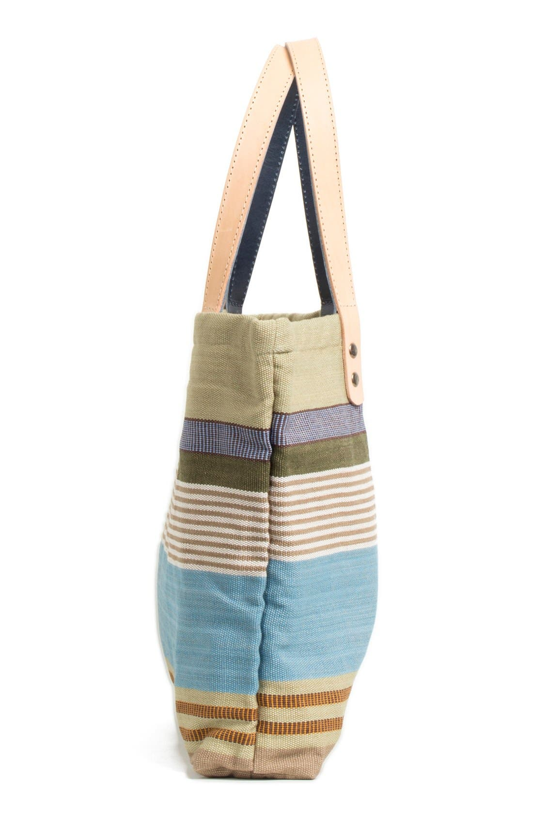 Alternate Image 4  - Will Leather Goods 'Weaver's House' Reversible Canvas Tote