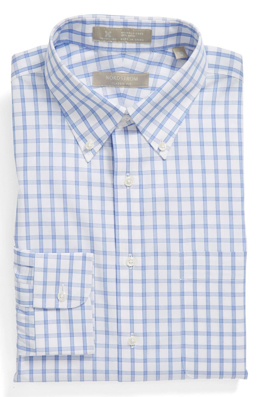 Main Image - Nordstrom Smartcare™ Wrinkle Free Classic Fit Dress Shirt