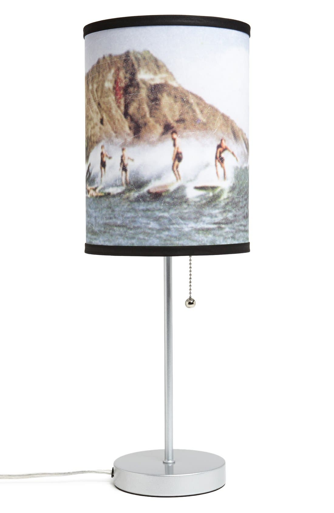 Alternate Image 1 Selected - LAMP-IN-A-BOX 'Surfing Coast Sport' Table Lamp