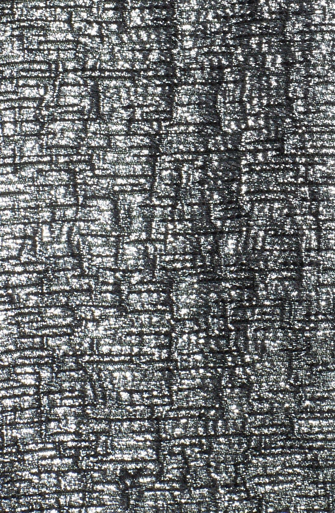 Alternate Image 3  - kate spade new york 'aimee' metallic textured pleat skirt