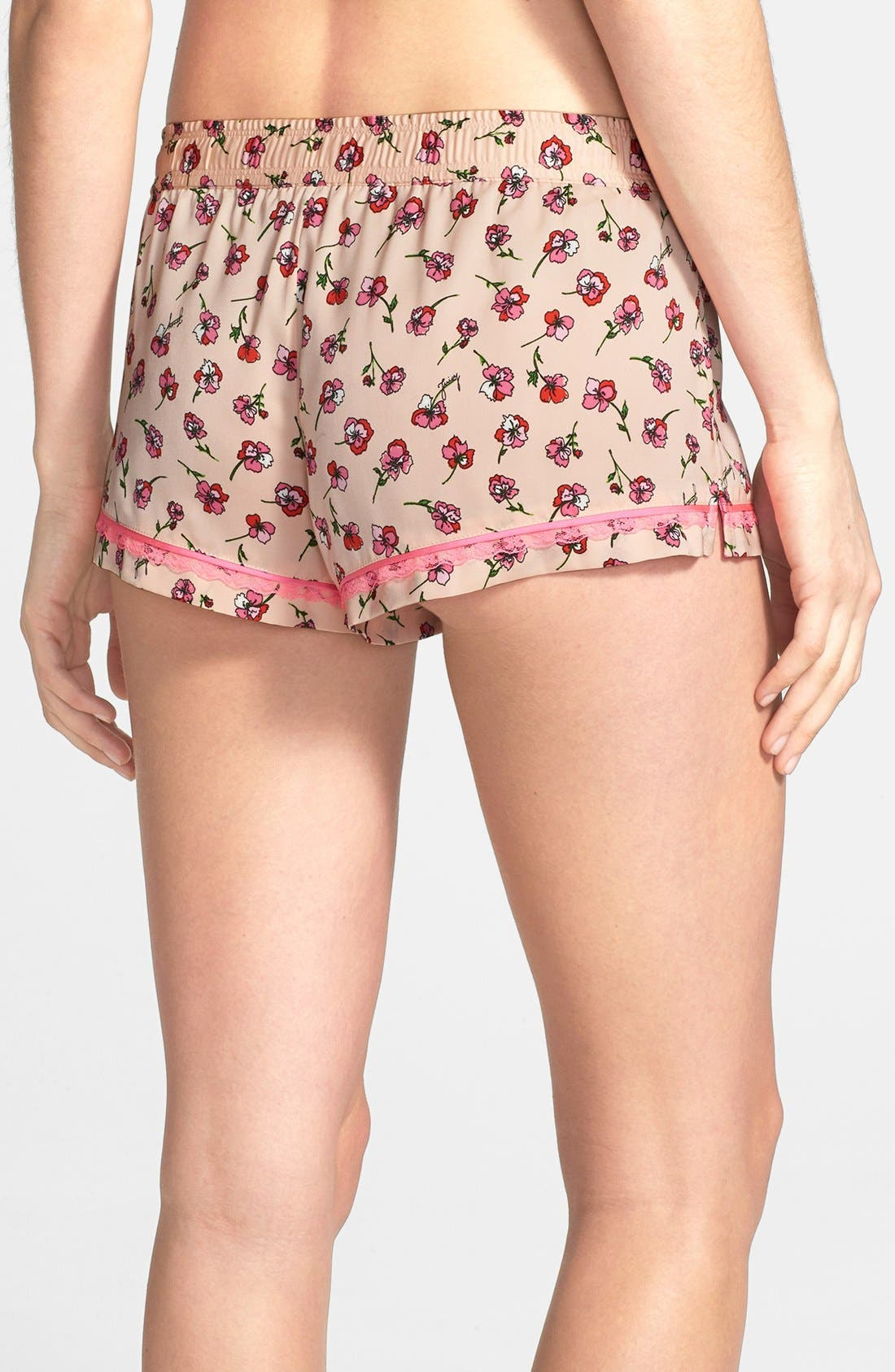 Alternate Image 2  - Juicy Couture 'Frolic' Floral Shorts
