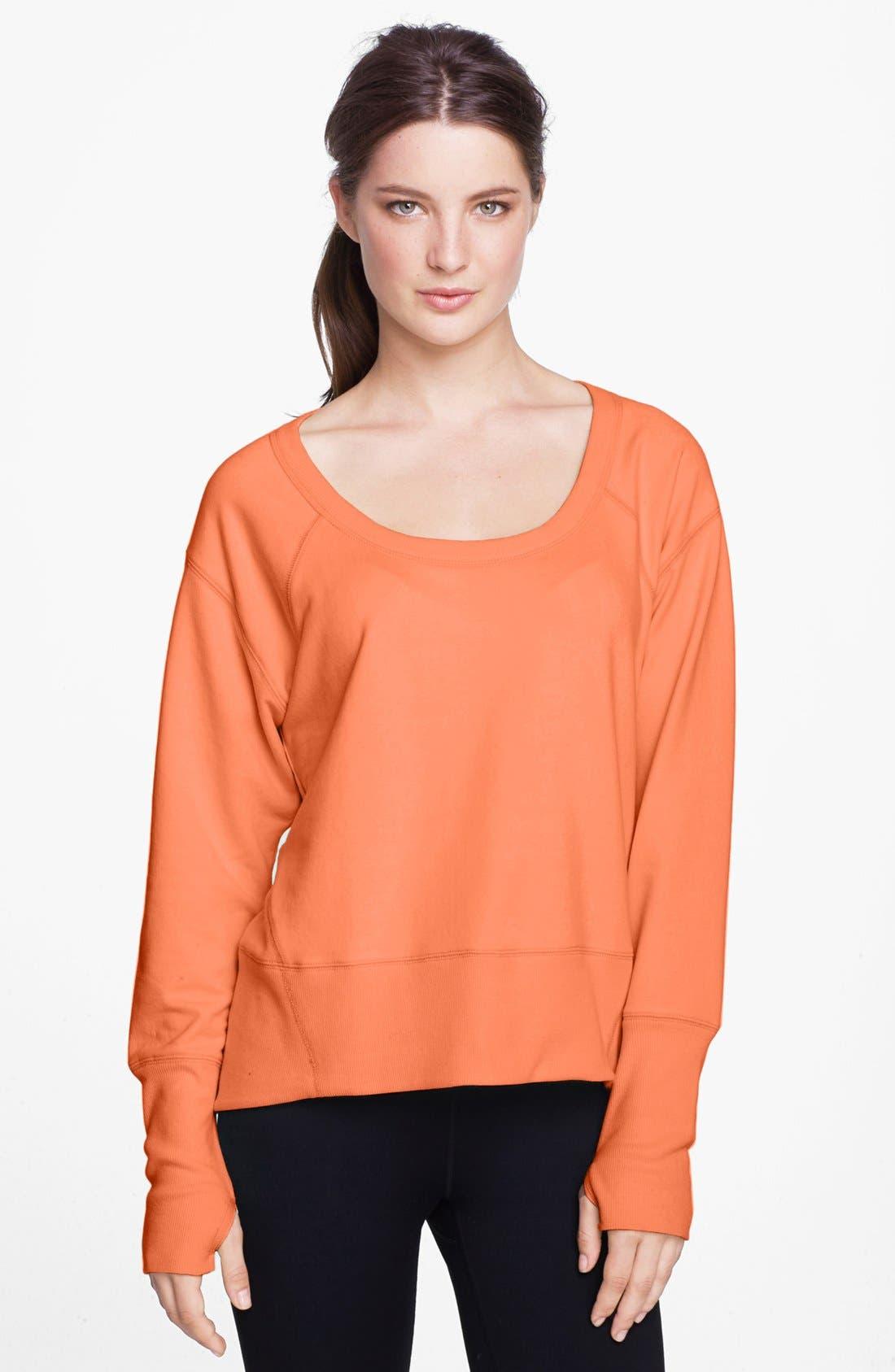 Main Image - Zella Sweatshirt, Tee & Leggings