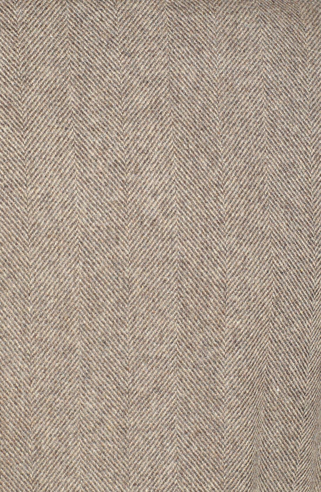 Alternate Image 3  - Ted Baker London 'Zainab' Herringbone Coat