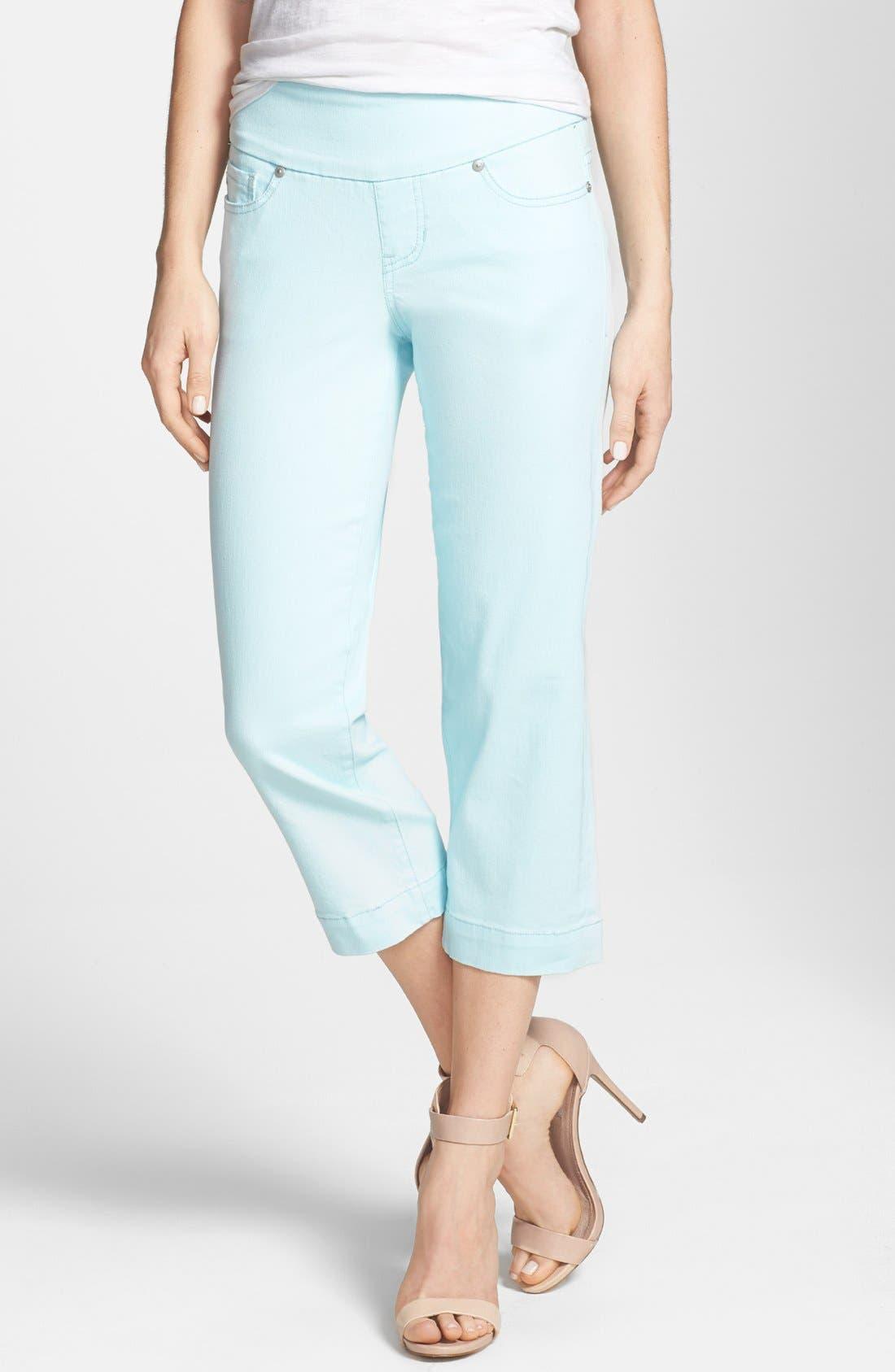 Alternate Image 1 Selected - Jag Jeans 'Felicia' Crop Stretch Denim Jeans (Petite)
