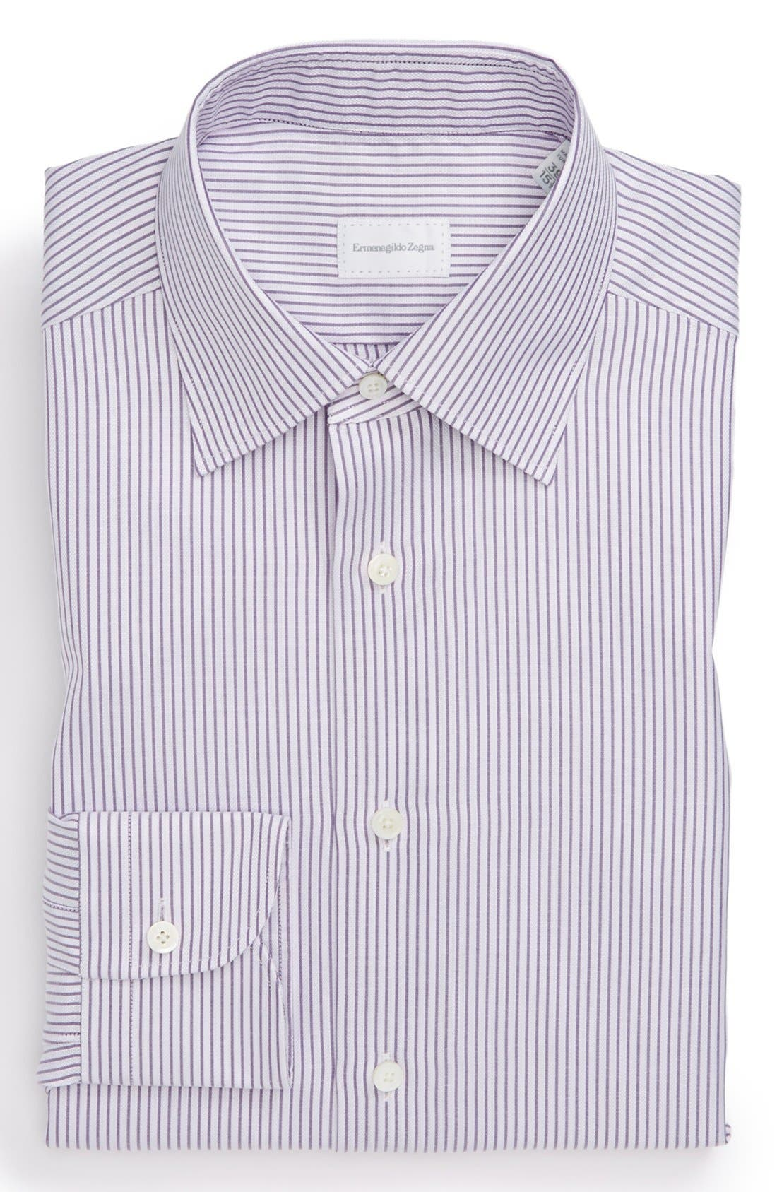 Classic Fit Dress Shirt,                         Main,                         color, Lavender
