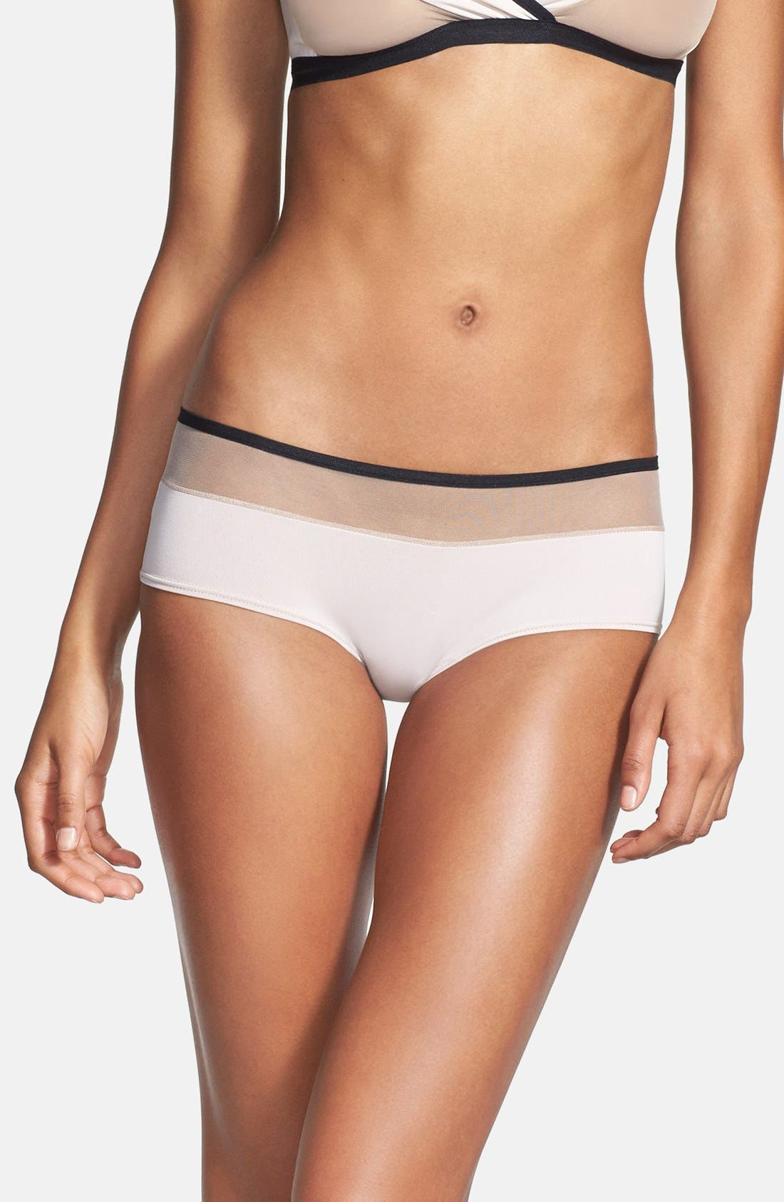 Alternate Image 1 Selected - Only Hearts 'LouLou' Hipster Briefs