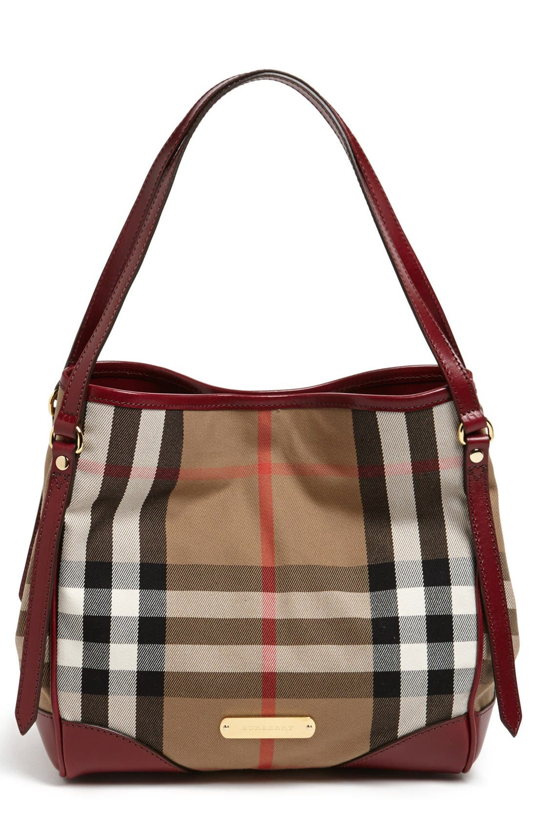 Alternate Image 1 Selected - Burberry 'Small Canterbury' House Check Tote