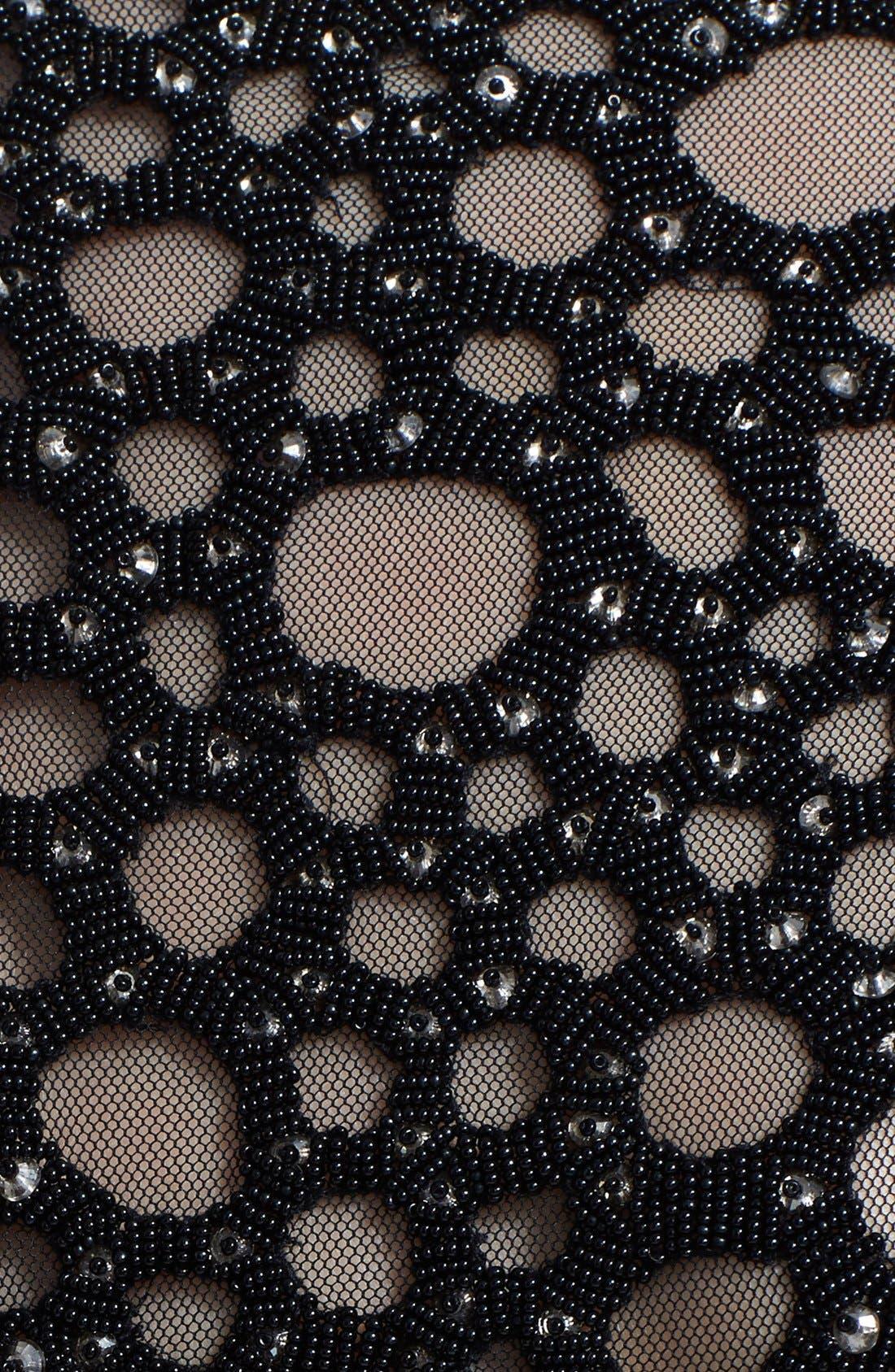 Alternate Image 3  - Lela Rose Embellished Yoke Sheath Dress