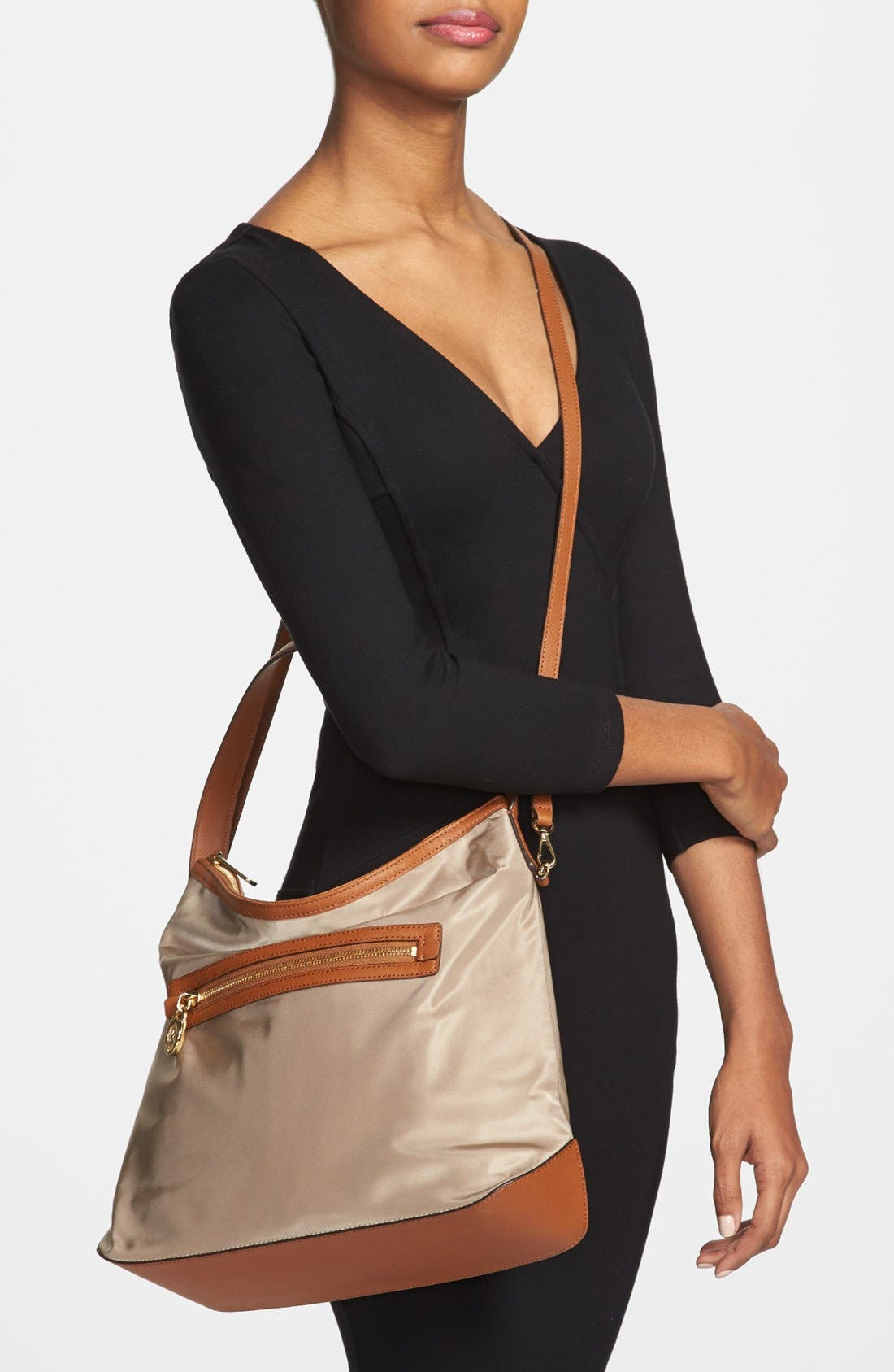 Alternate Image 2  - MICHAEL Michael Kors 'Kempton - Large' Nylon Satchel