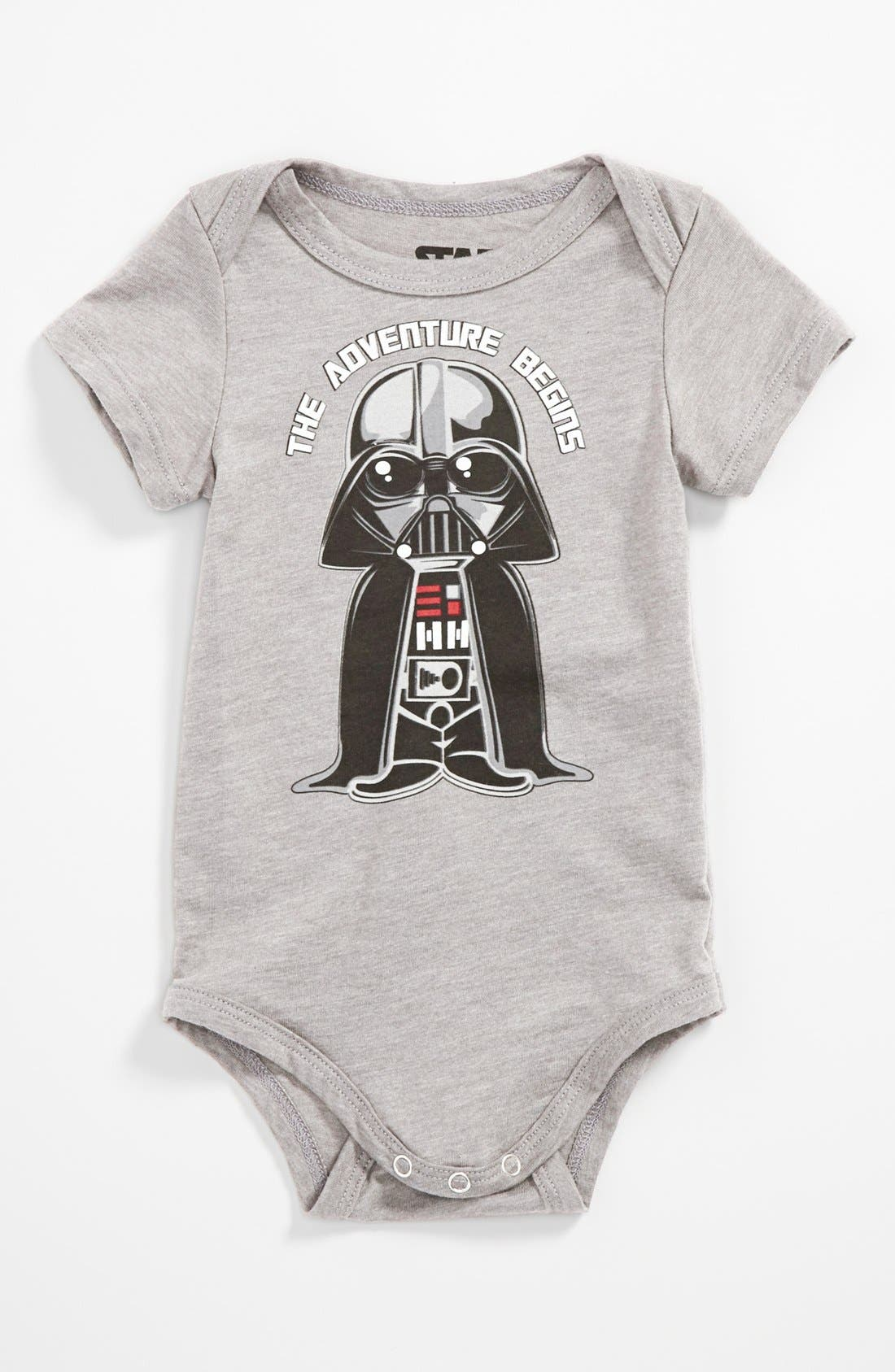 Alternate Image 1 Selected - Mighty Fine 'Vader Adventure' Bodysuit (Baby)