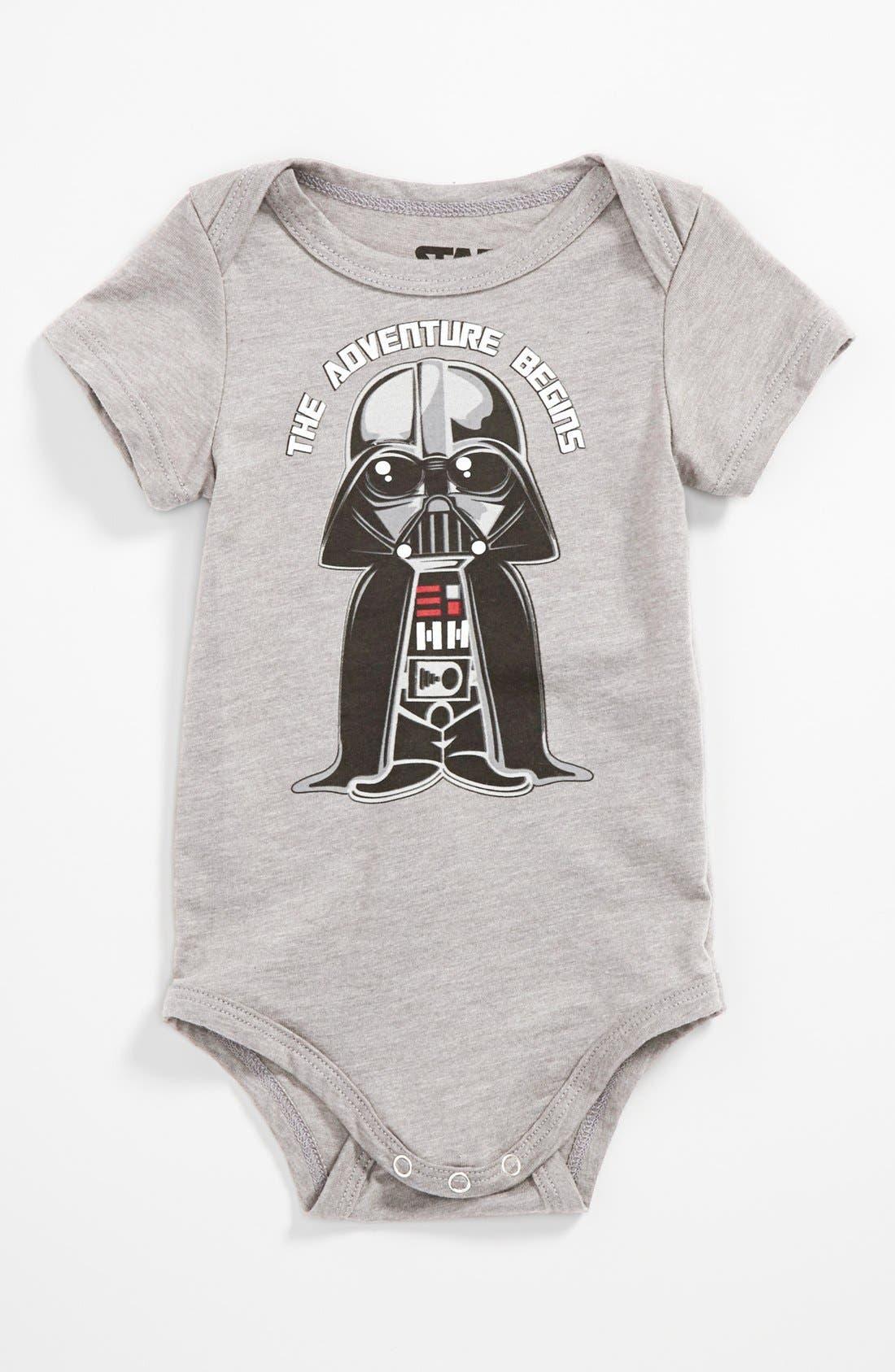 Main Image - Mighty Fine 'Vader Adventure' Bodysuit (Baby)
